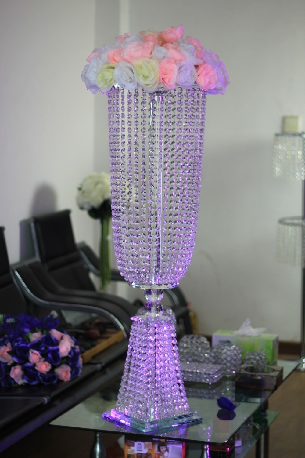 2019 Buy Table Stand Chandeliers For Weddings And Get Free Shipping On For Table Chandeliers (View 1 of 20)