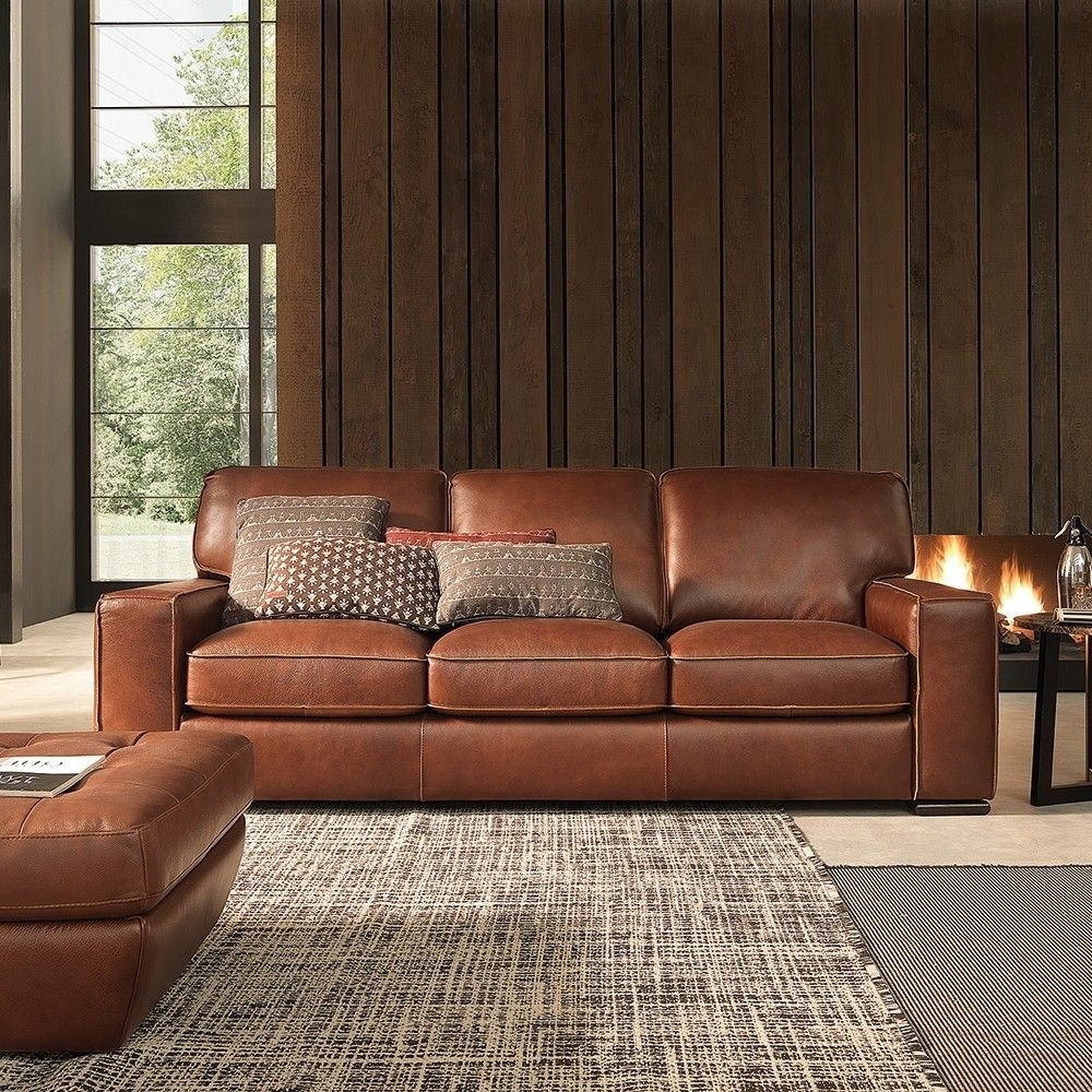 2019 Campbell Sofa #leather (View 4 of 20)