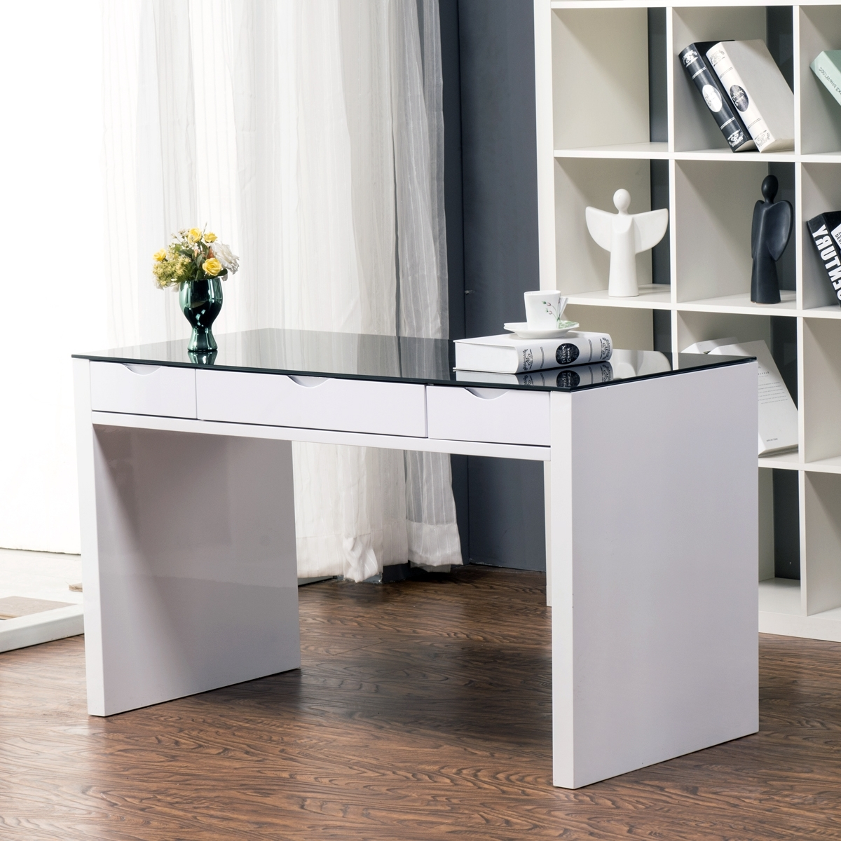 2019 Computer Desks In White Inside Furniture : Cheap White Desk Small Computer Desks Get Quotations A (View 6 of 20)