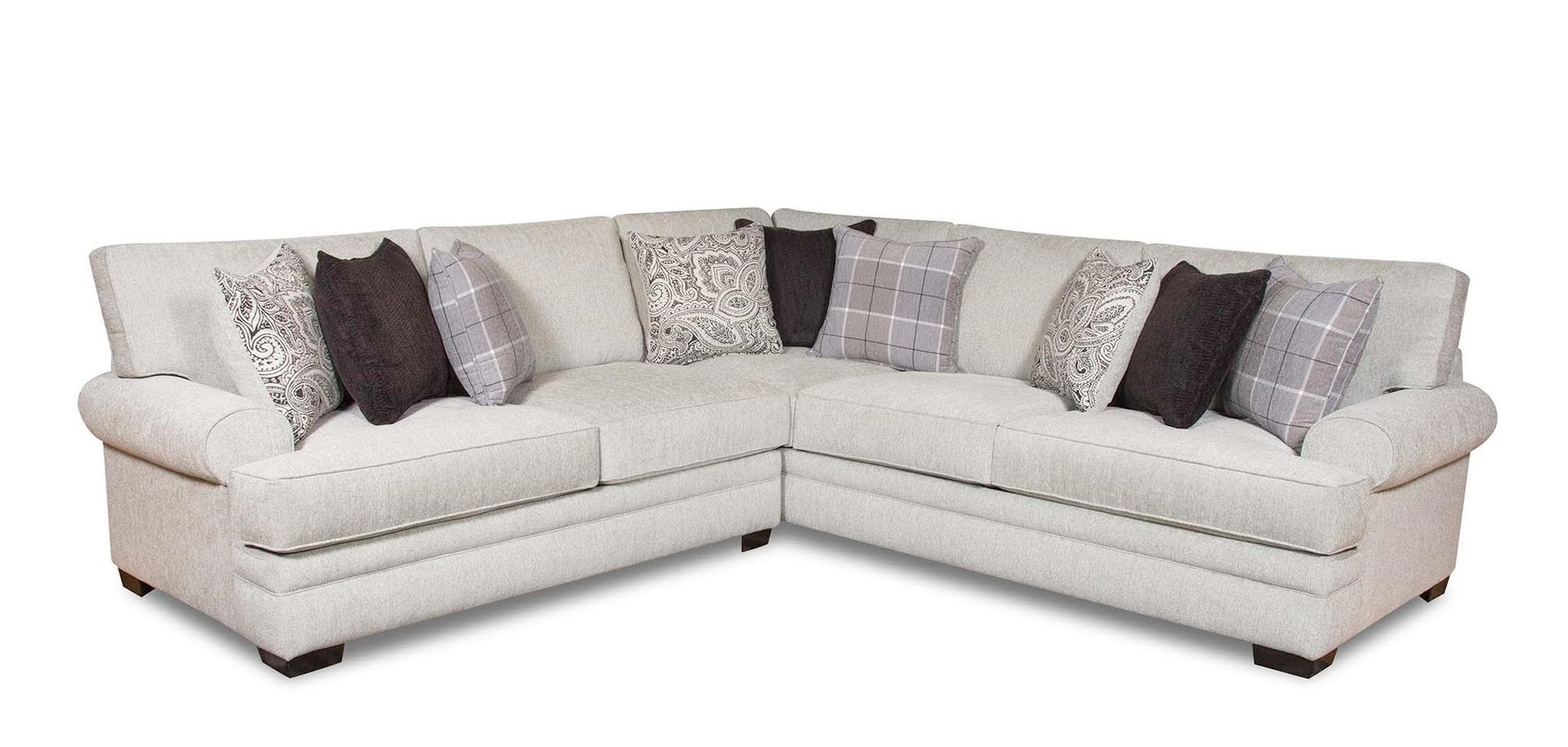2019 Corinthian 5900 2 Piece Transitional Sectional (View 1 of 20)