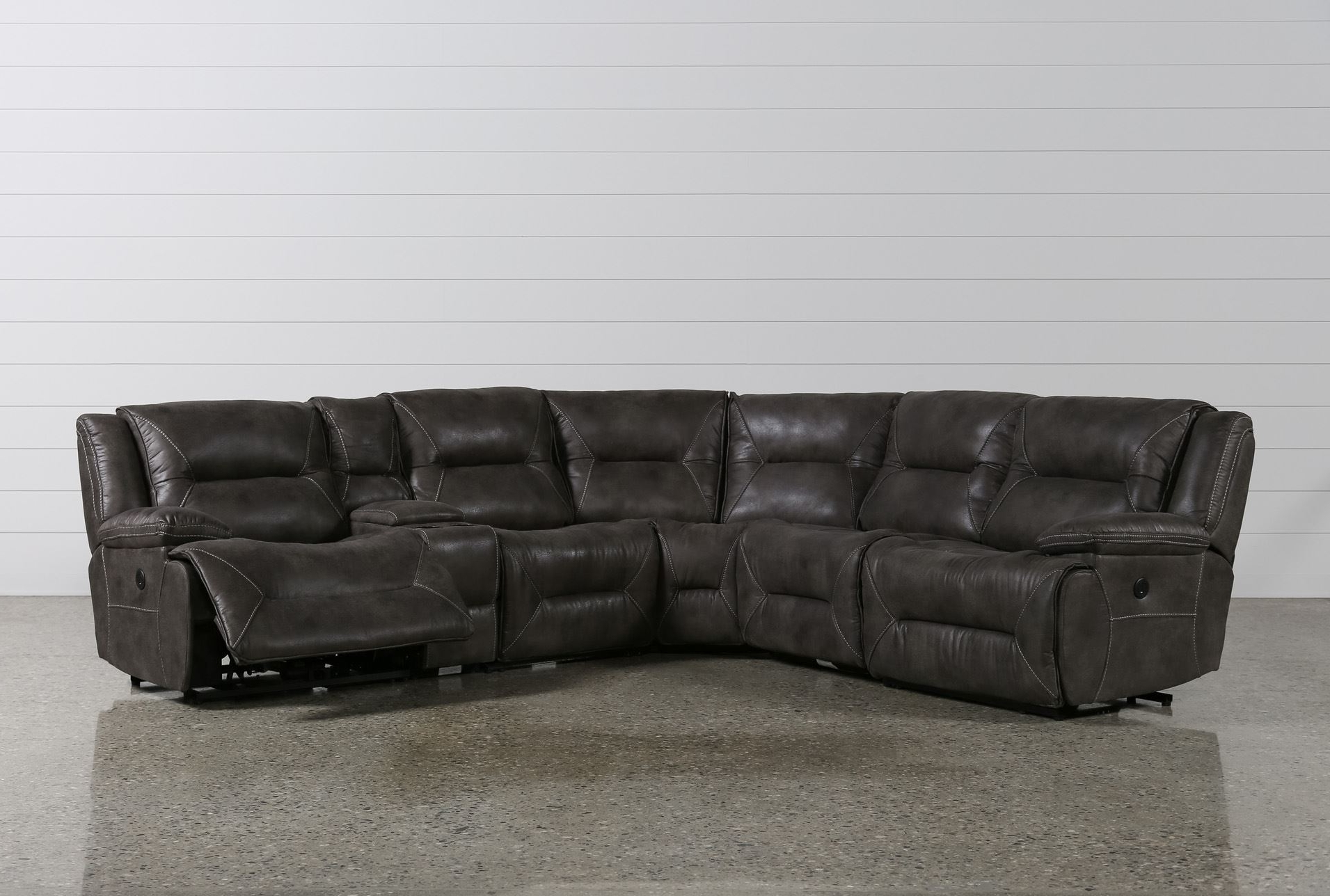 2019 Epic 6 Piece Leather Sectional Sofa 70 With Additional With 6 Regarding 6 Piece Leather Sectional Sofas (View 3 of 20)