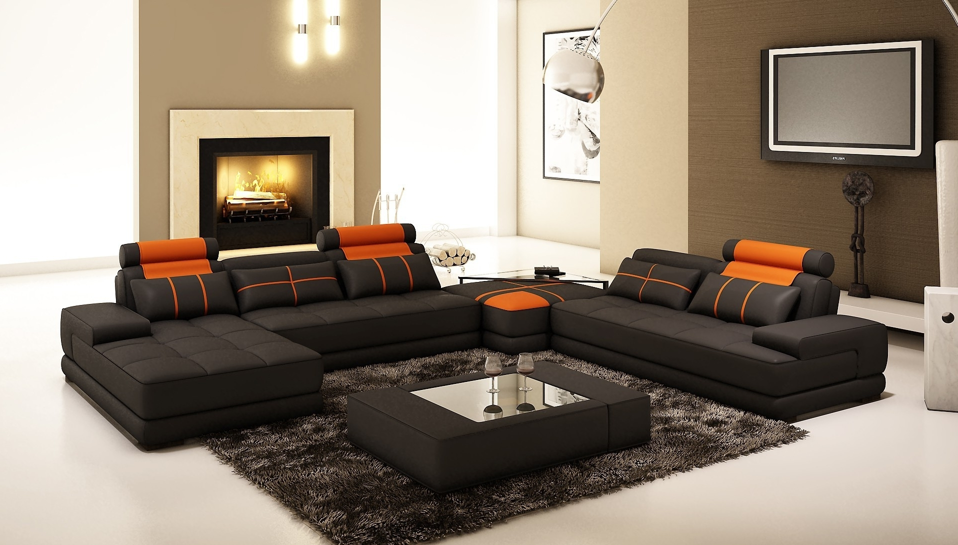 2019 Furniture : Sectional Sofa 102 X 102 Corner Couch Black Recliner In 102X102 Sectional Sofas (View 8 of 20)