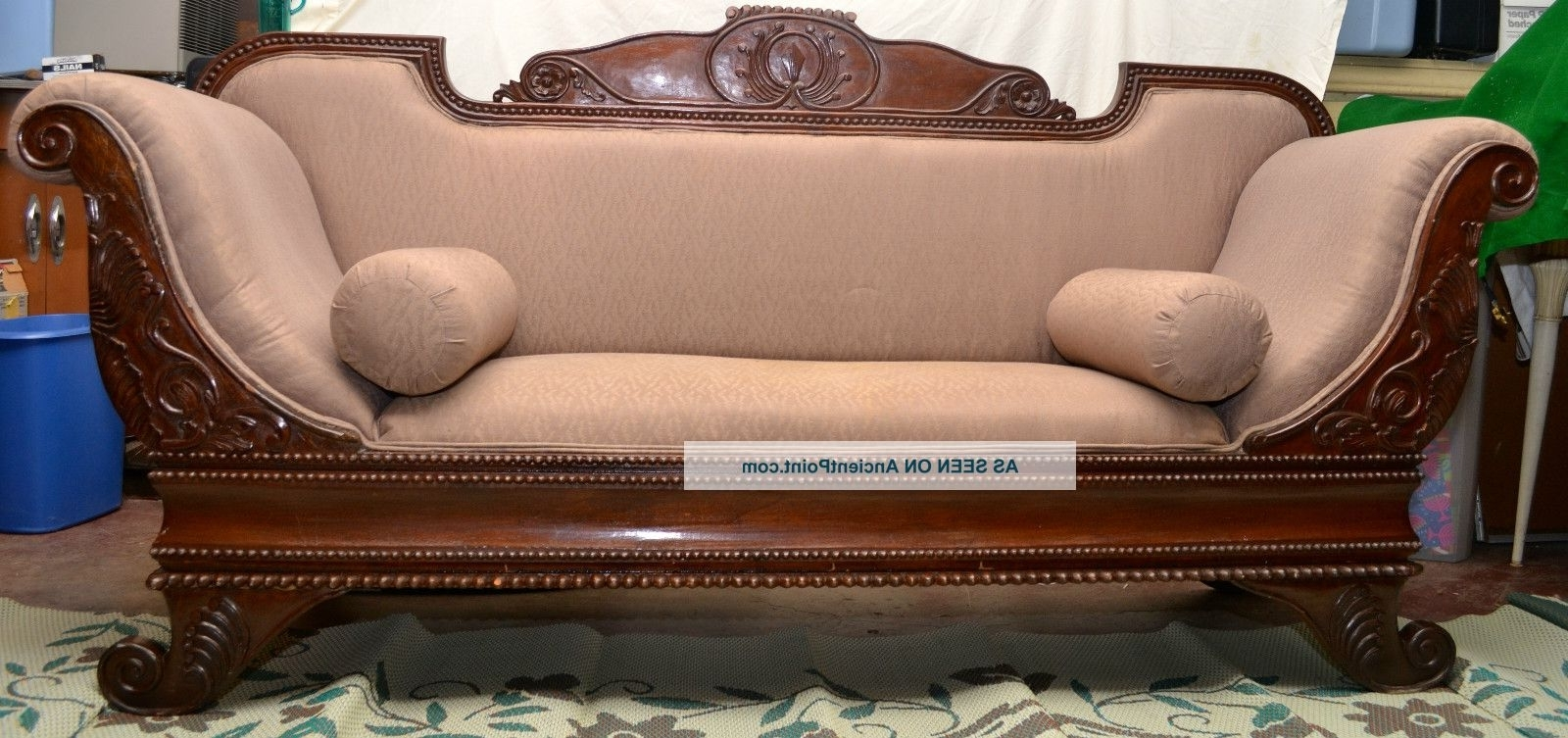 2019 Gothic Sofas Intended For Cleopatra Gothic/old West/victorian Sofa 1800 1899 Photo (View 8 of 20)