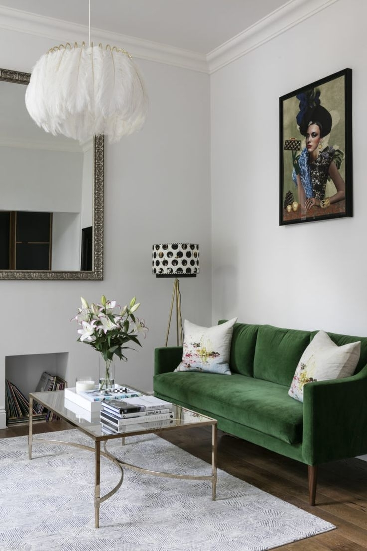 2019 Green Velvet Sofa Unique Pictures Inspirations Ikea Stockholm Ikea Within Green Sofa Chairs (View 2 of 20)