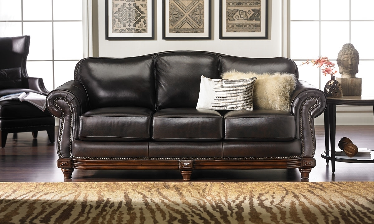2019 Italian Leather Reclining Sofa Costco Furniture In Store 2016 Full Regarding Full Grain Leather Sofas (View 2 of 20)