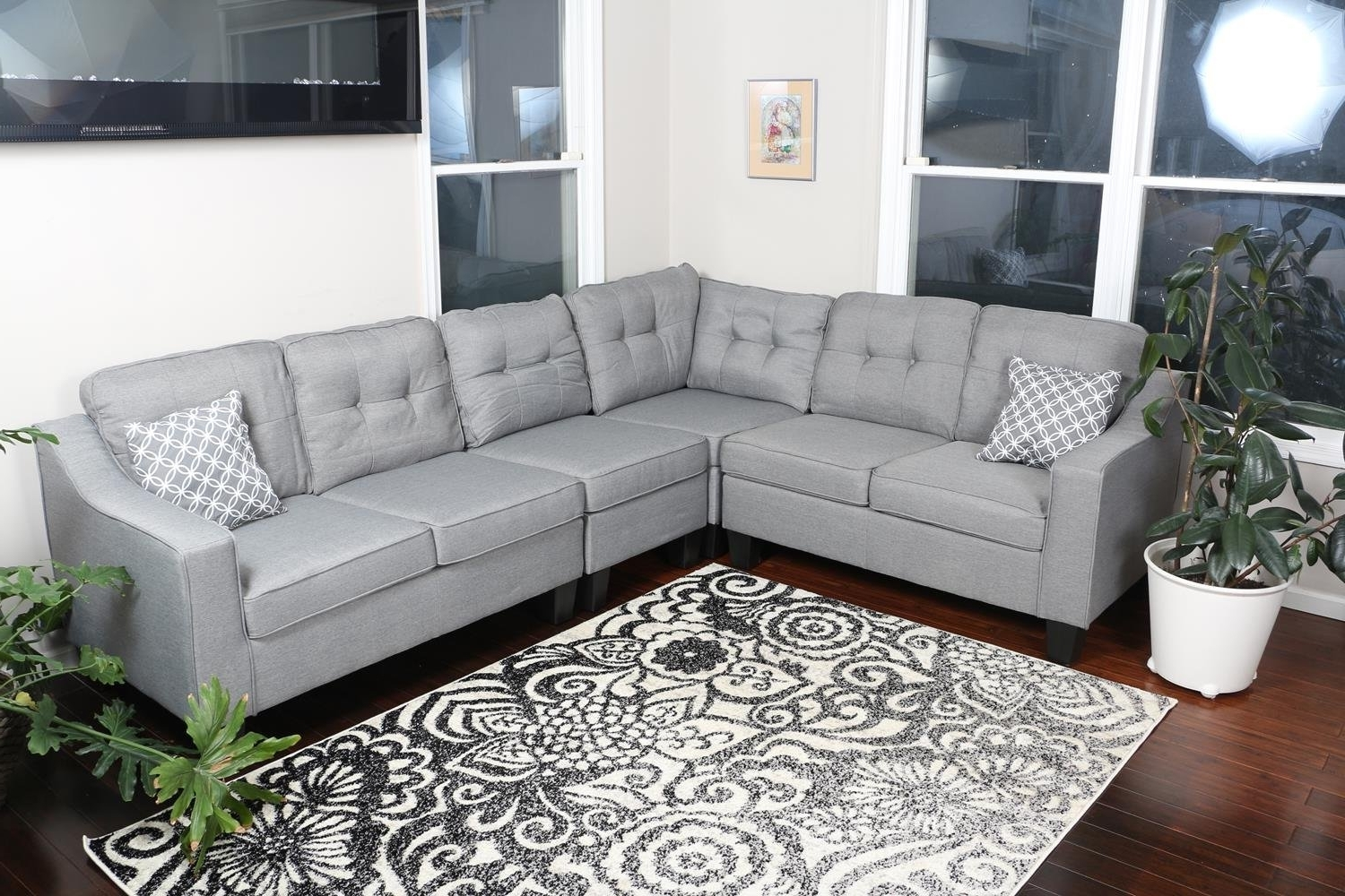 2019 Kelowna Sectional Sofas Intended For Furniture : Corner Couch Images Sectional Couch 3D Model Sectional (View 3 of 20)