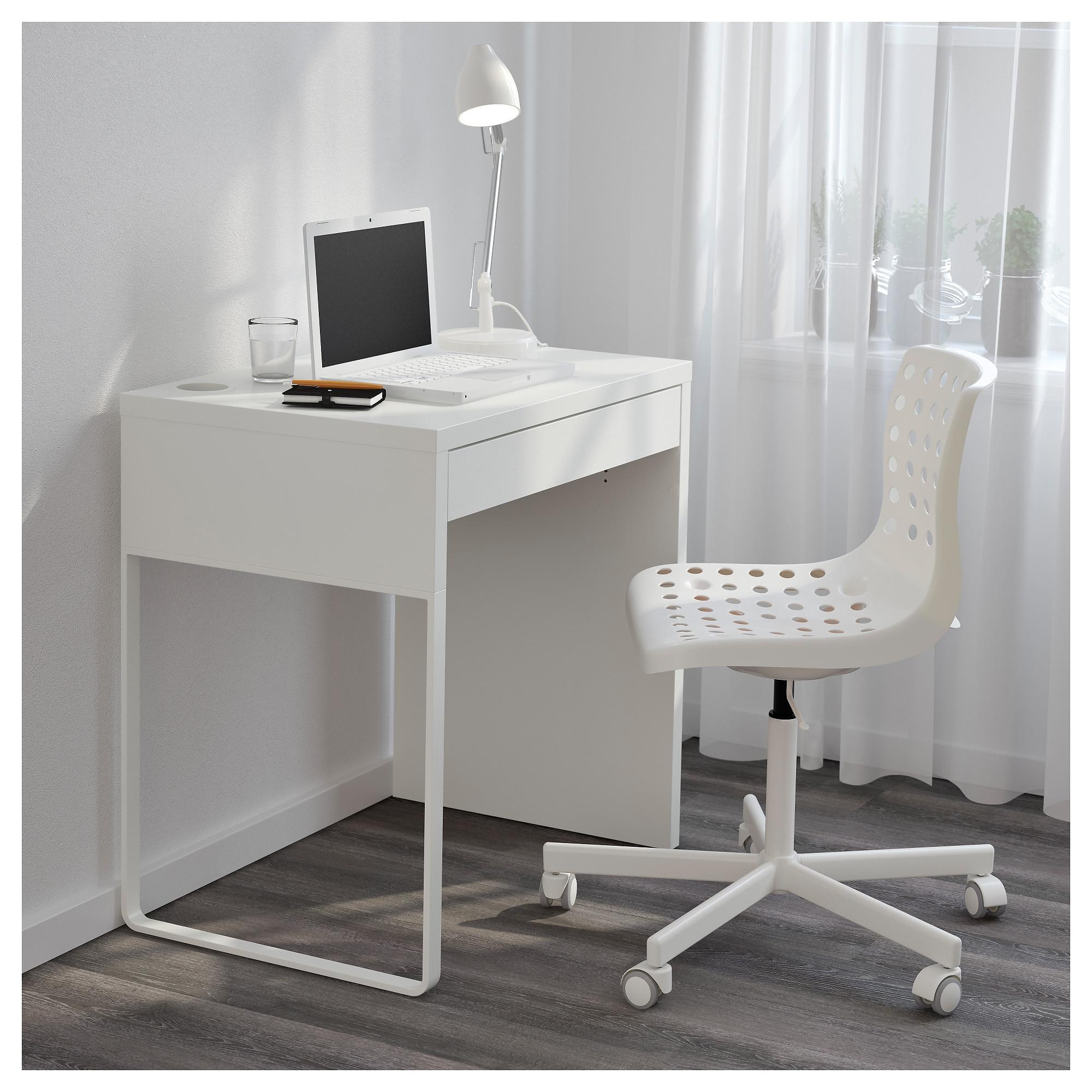 2019 Micke Desk – White – Ikea Throughout Ikea Mn Computer Desks (View 1 of 20)