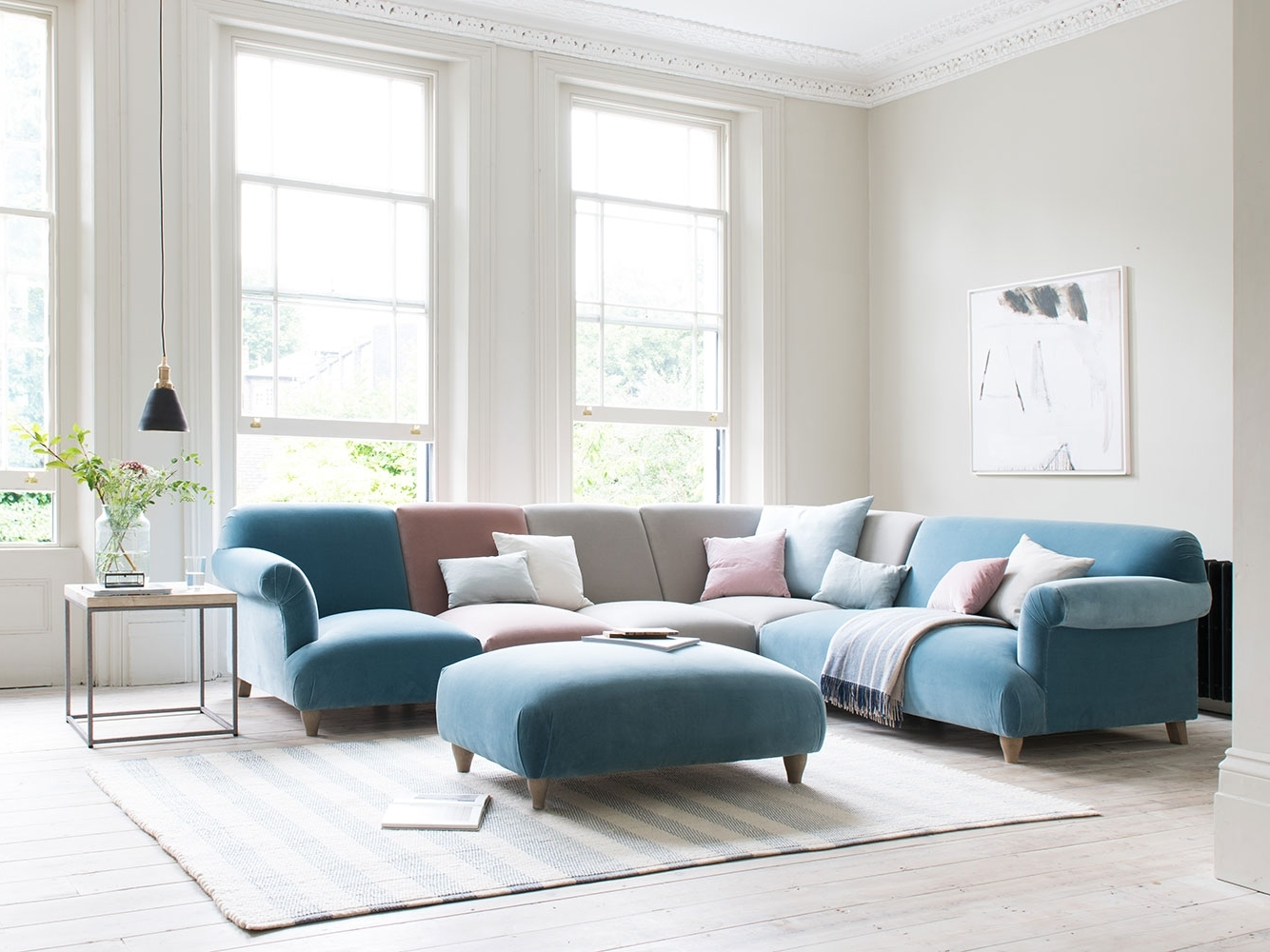 2019 Modular Corner Sofas Intended For Soufflé Modular Sofa (View 1 of 20)