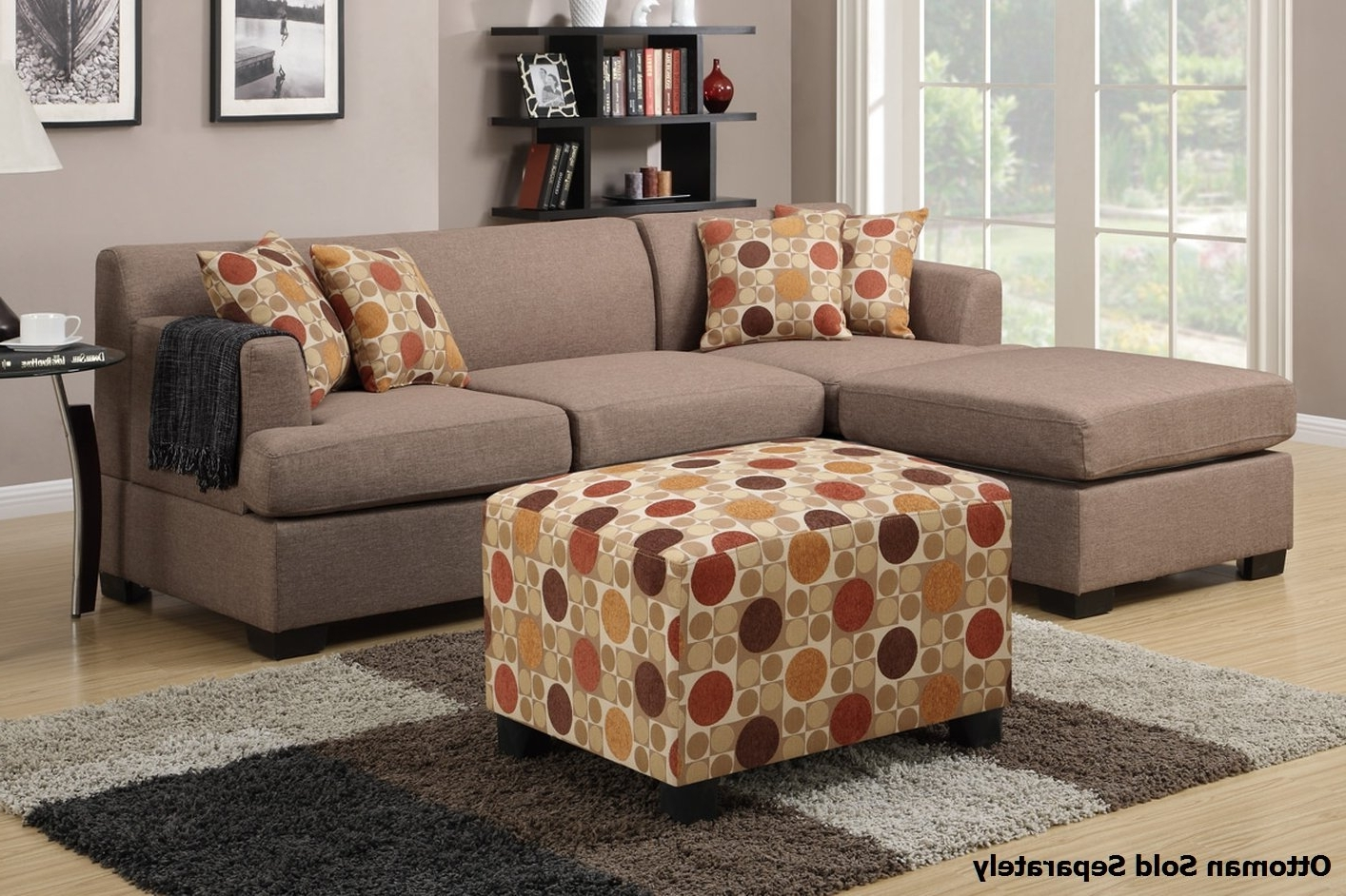 2019 Montreal Sectional Sofas Regarding Montreal Ii Beige Fabric Sectional Sofa – Steal A Sofa Furniture (View 3 of 20)