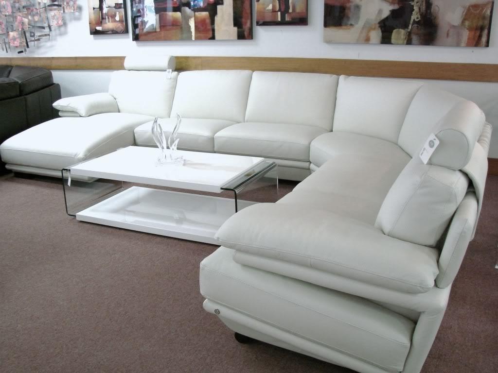2019 Natuzzi Plaza Leather Sectional (View 2 of 20)