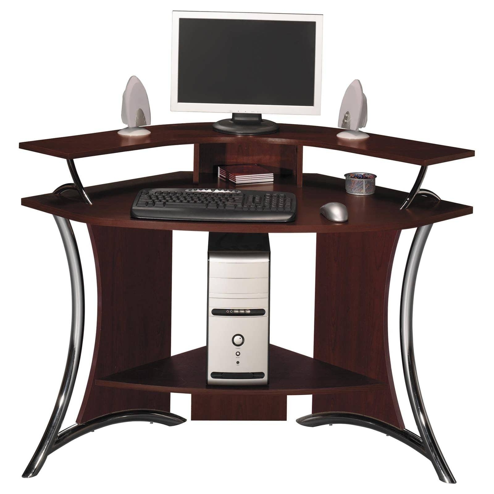 2019 Office Desk : White Corner Desk With Hutch Small White Desk Tall Pertaining To Tall Computer Desks (View 16 of 20)