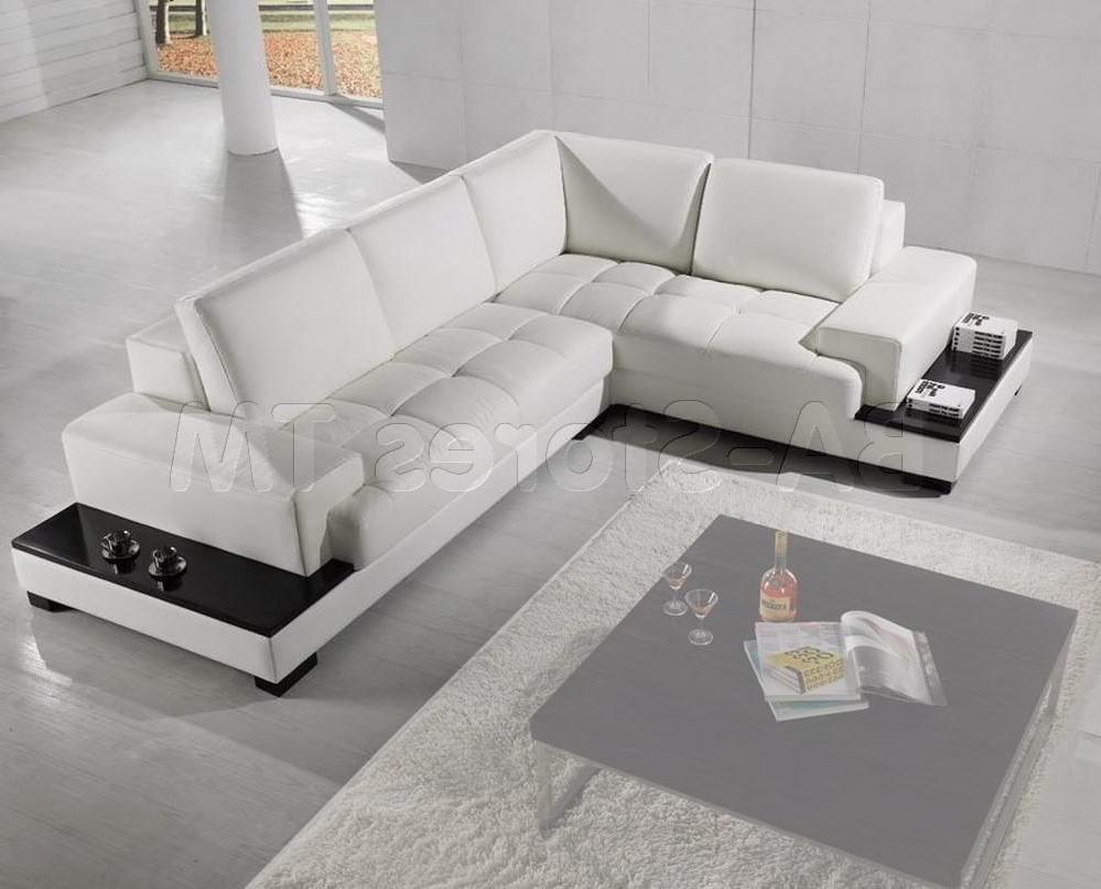 2019 Sectional Sofa Design: Sectional Contemporary Sofa Leather Modern Intended For Wide Seat Sectional Sofas (View 2 of 20)