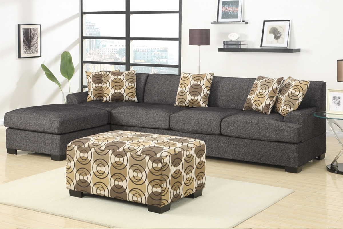 2019 Sectional Sofas With 2 Chaises Pertaining To 2 Piece Sectional Sofa With Chaise Design (View 1 of 20)