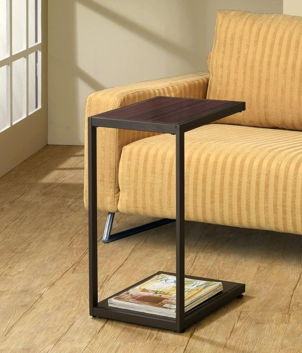 2019 Side Table ~ Side Drink Table Sofa Rooms Holder Side Drink Table With Regard To Sofas With Drink Tables (View 3 of 20)
