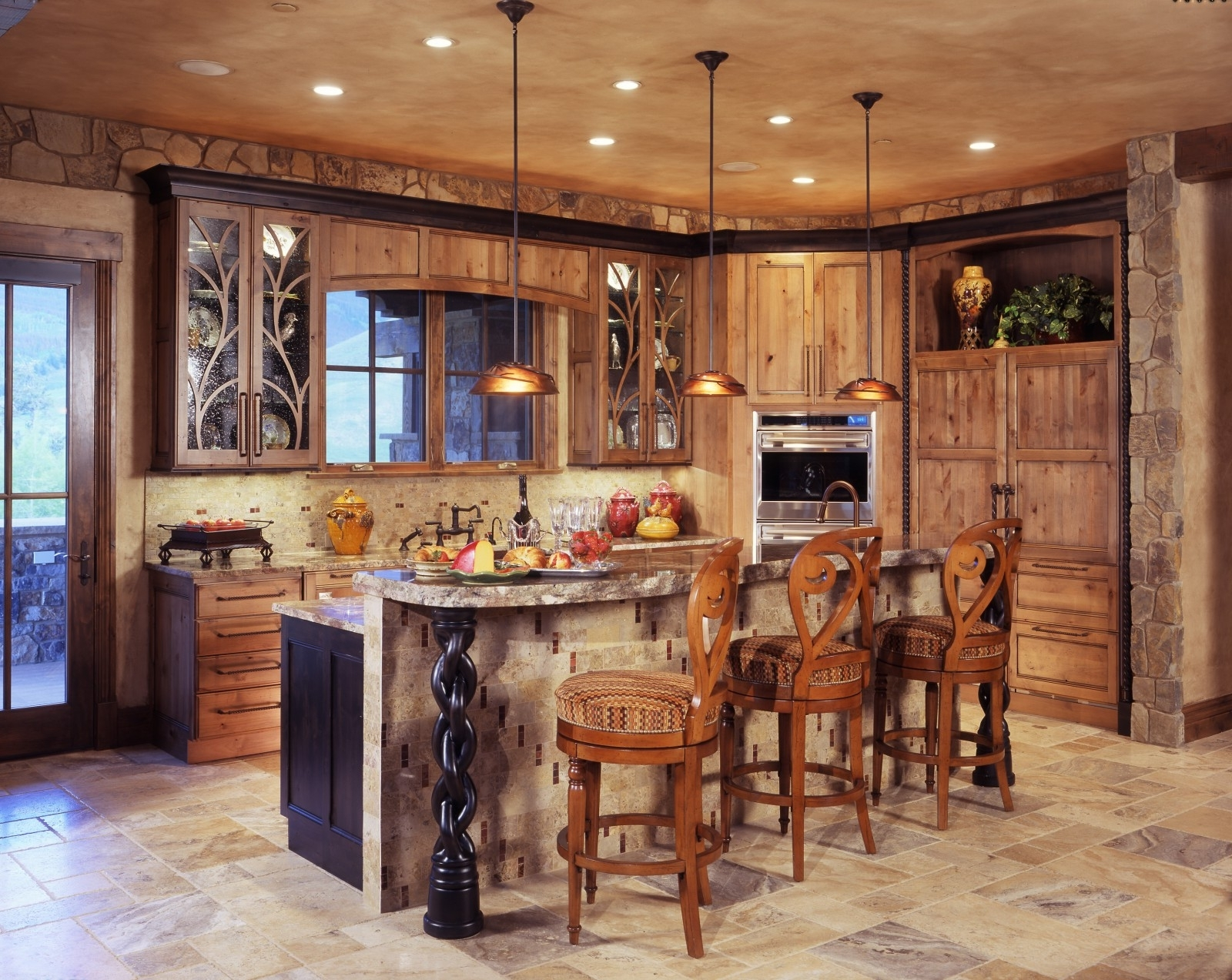 2019 Small Rustic Kitchen Chandeliers Throughout Rustic Kitchen Lighting Ideas – Kitchen Ideas, Rustic Kitchen (View 1 of 20)