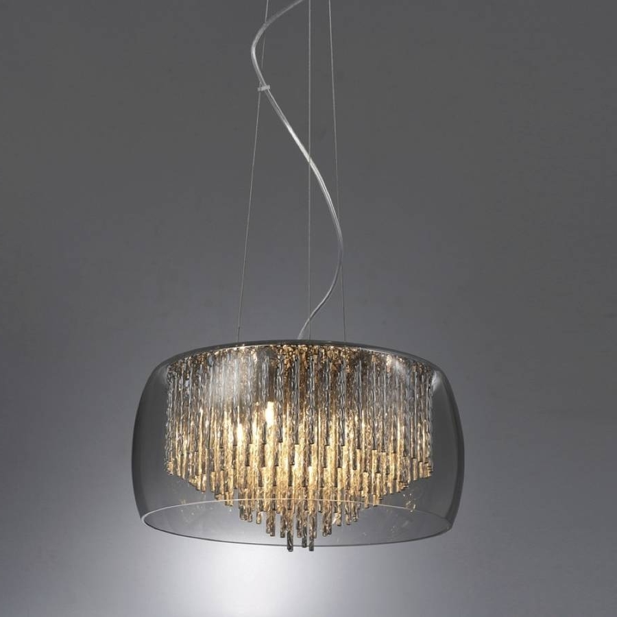 2019 Smoked Glass Shimmering Chandelier Ceiling Lightmade With Love With Regard To Smoked Glass Chandelier (View 3 of 20)