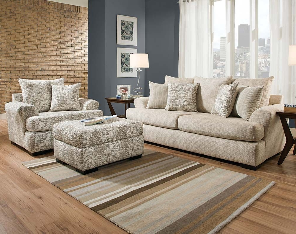 2019 Sofa : Divani Casa Amisk Modern Teal Grey Fabricofa Chairet Andets Within Clarksville Tn Sectional Sofas (View 1 of 20)