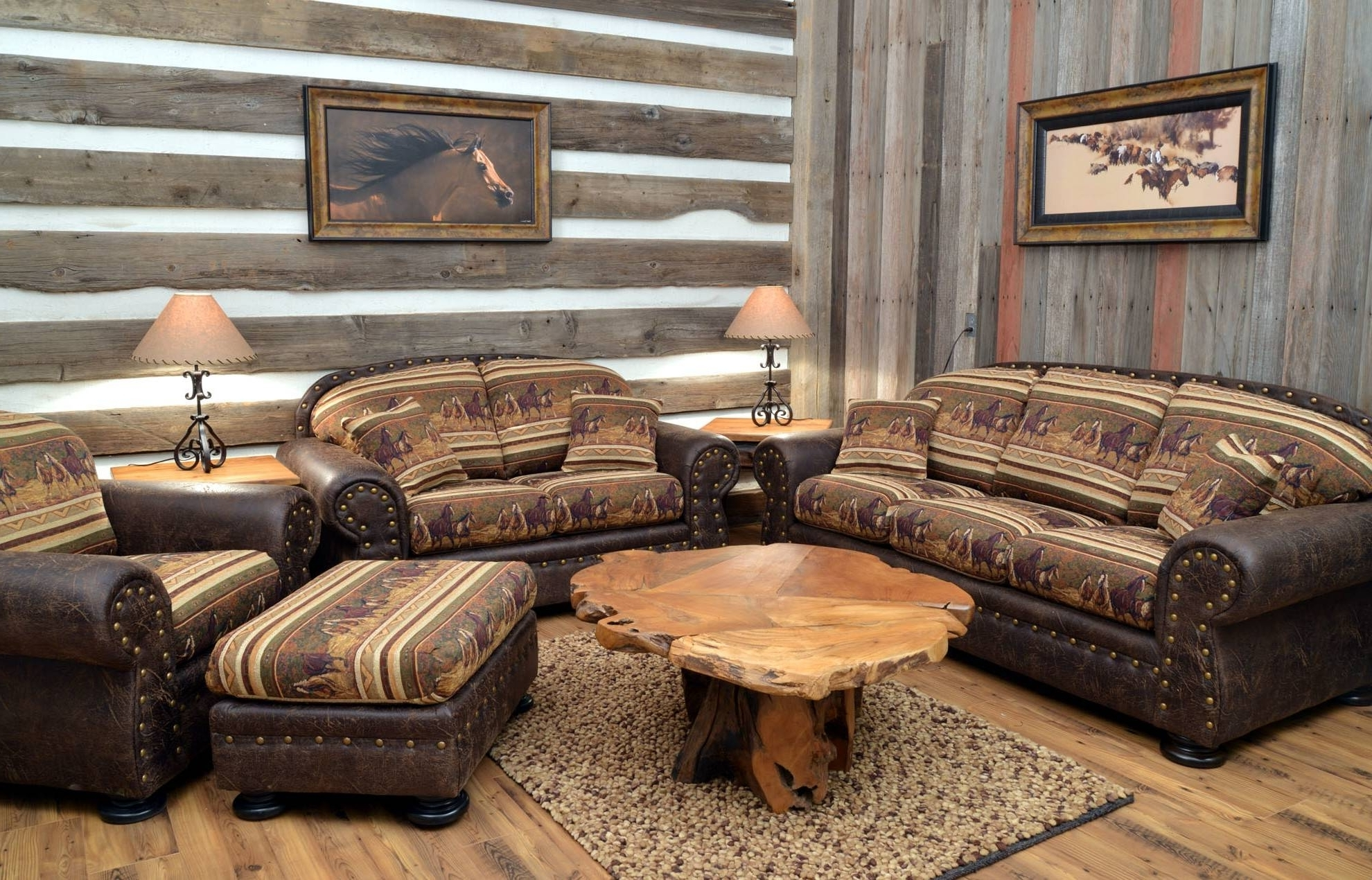 2019 Sofa Rustic Sectional Sofas With Recliners Style Leather Chaise Intended For Sectional Sofas In Stock (View 14 of 20)