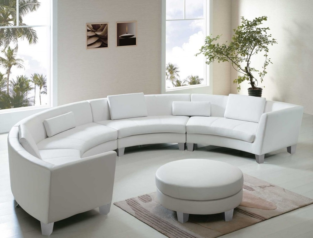 2019 Sofa : T35 White Bonded Leather Sectional Sofa White Leather In Sectional Sofas In Toronto (View 2 of 20)