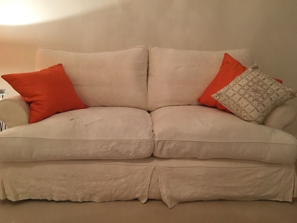 2019 Sofas With Washable Covers Pertaining To John Lewis Sofa Set  3 Seater & 2 Seater (View 3 of 20)