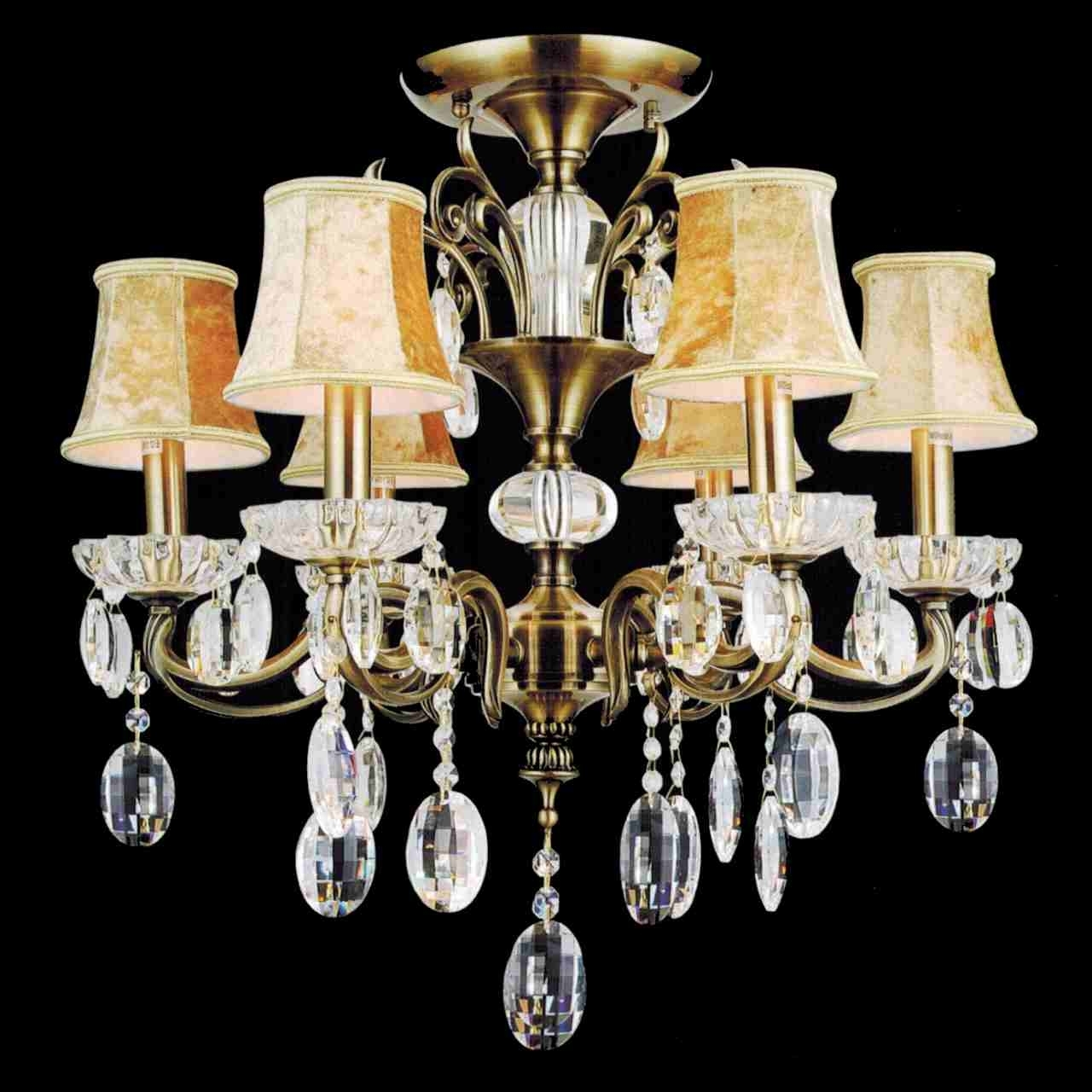 2019 Traditional Crystal Chandeliers With Regard To Brizzo Lighting Stores (View 1 of 20)