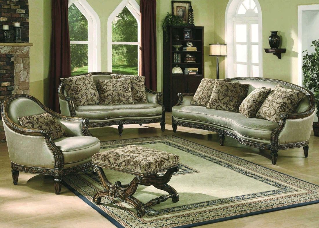 2019 Traditional Fabric Sofas With Furniture : Fancy Sofas & Sectionals >> Traditional Sofas (View 2 of 20)