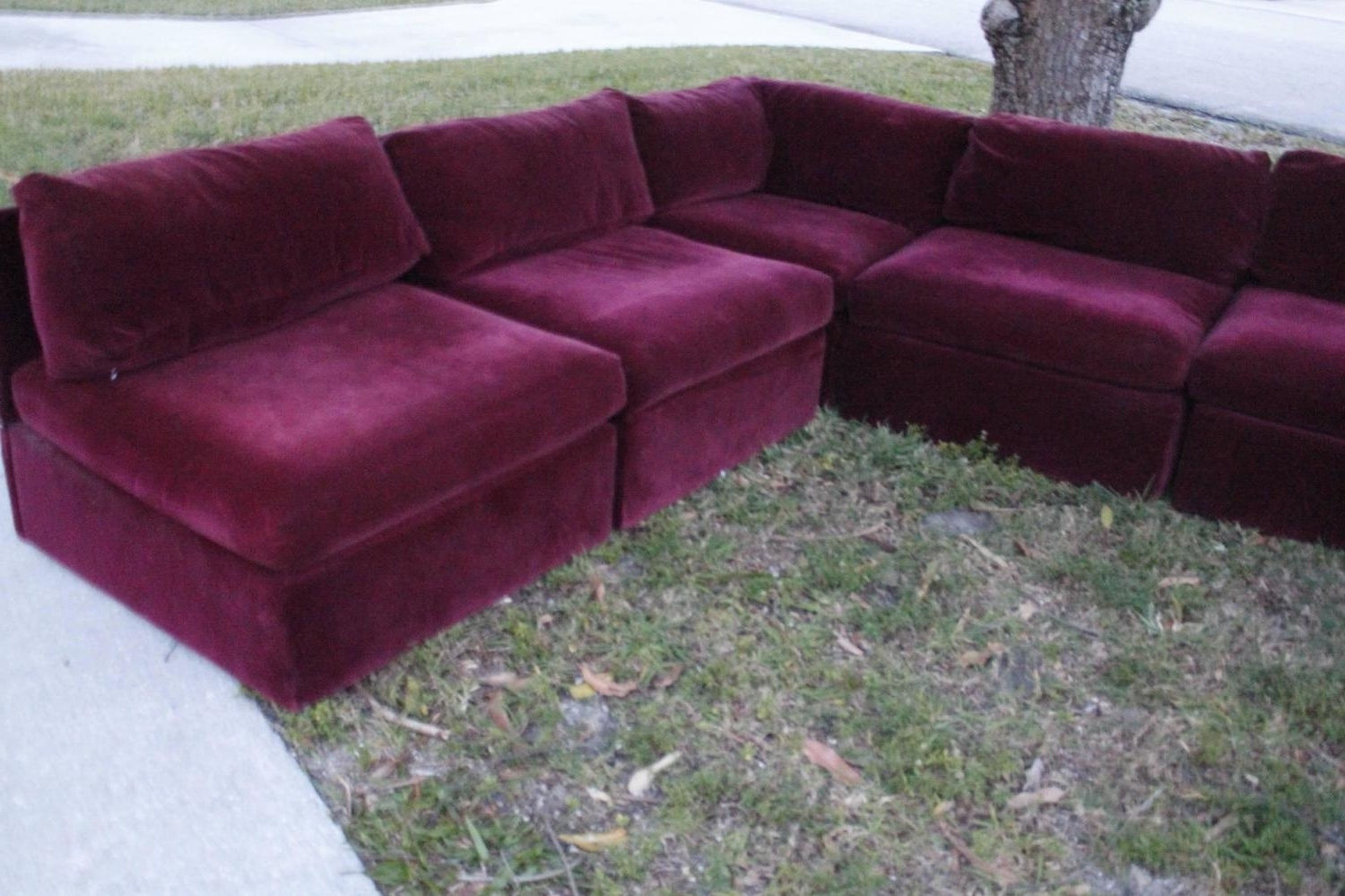 2019 Vintage Sectional Sofas With Milo Baughman For Thayer Coggin Tagged Nine Piece Sectional Sofa (View 3 of 20)