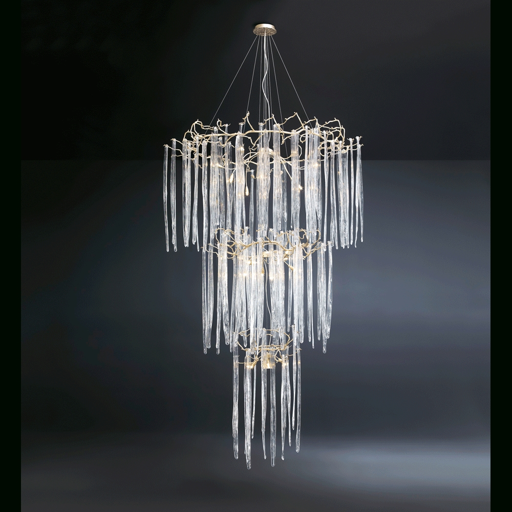 2019 Waterfall Chandelier (View 1 of 20)