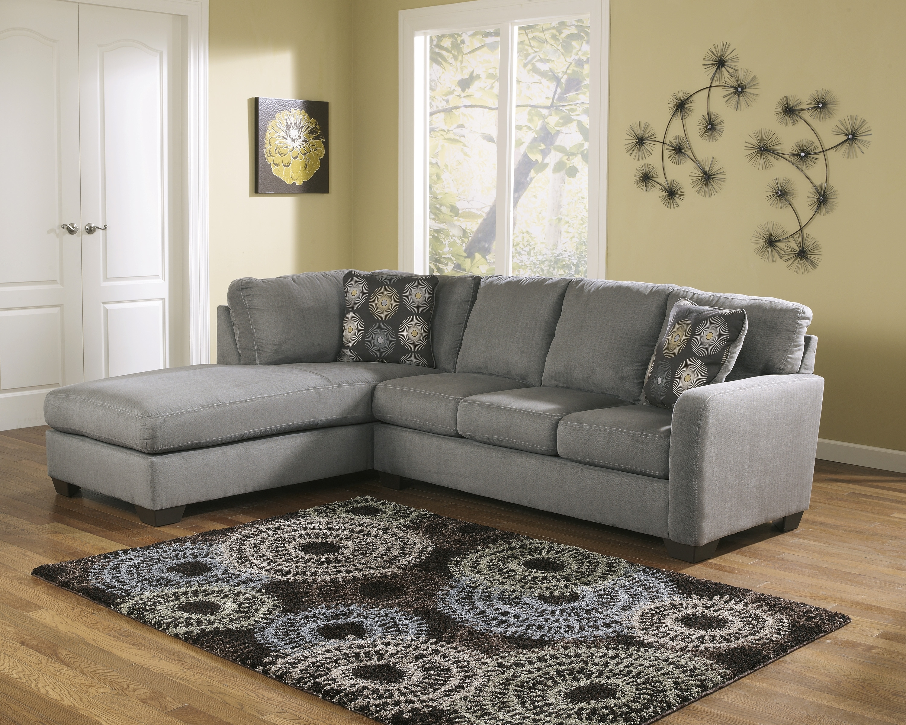 2019 Wichita Ks Sectional Sofas Intended For Cuisine: Rsfchaisesectionalashley Furniture In Wichita Ks Rsf (View 1 of 20)