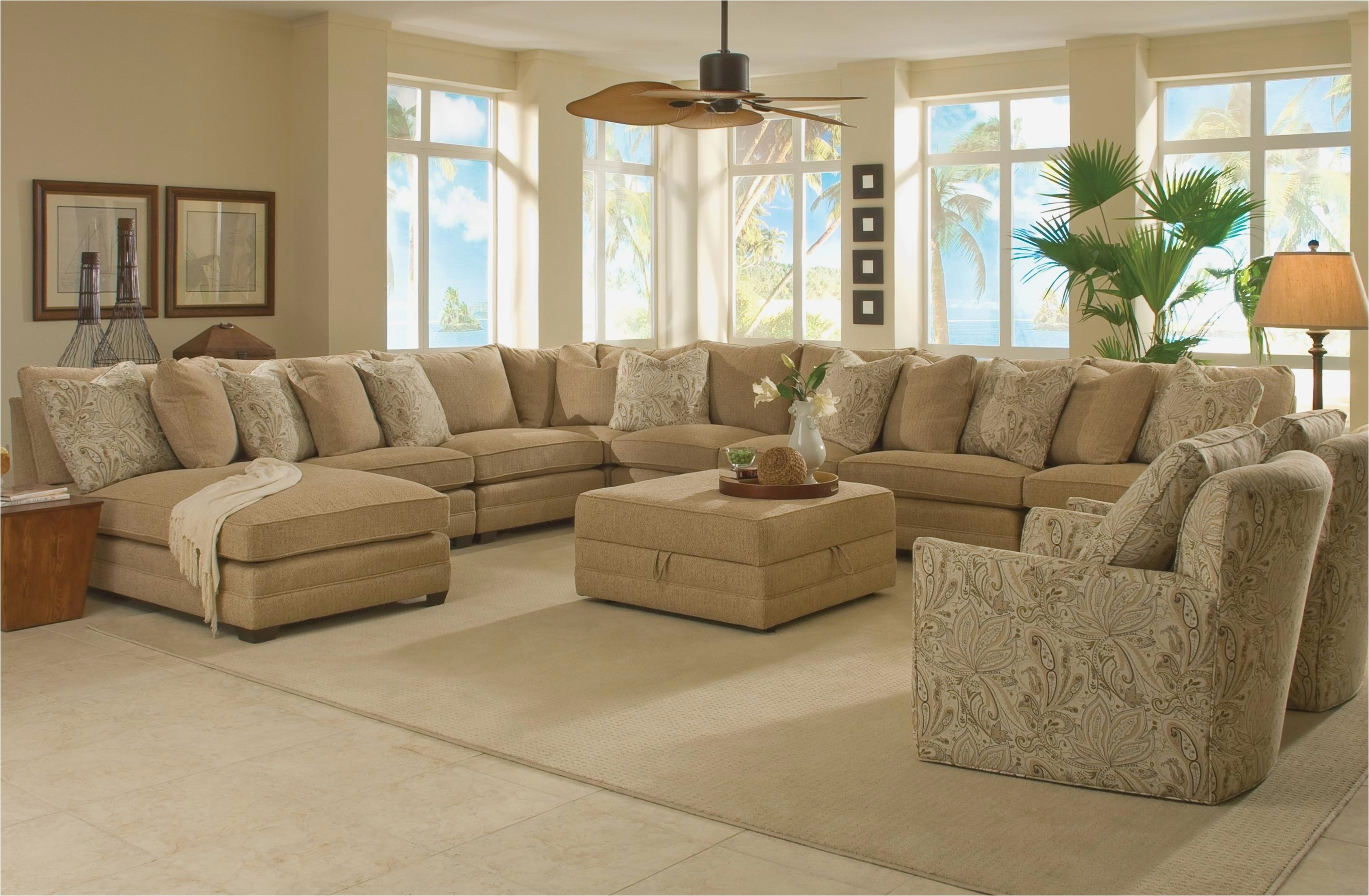 2019 Wide Seat Sectional Sofas Intended For Deep Seated Couch Lovely Wide Seat Sectional Sofas (View 3 of 20)