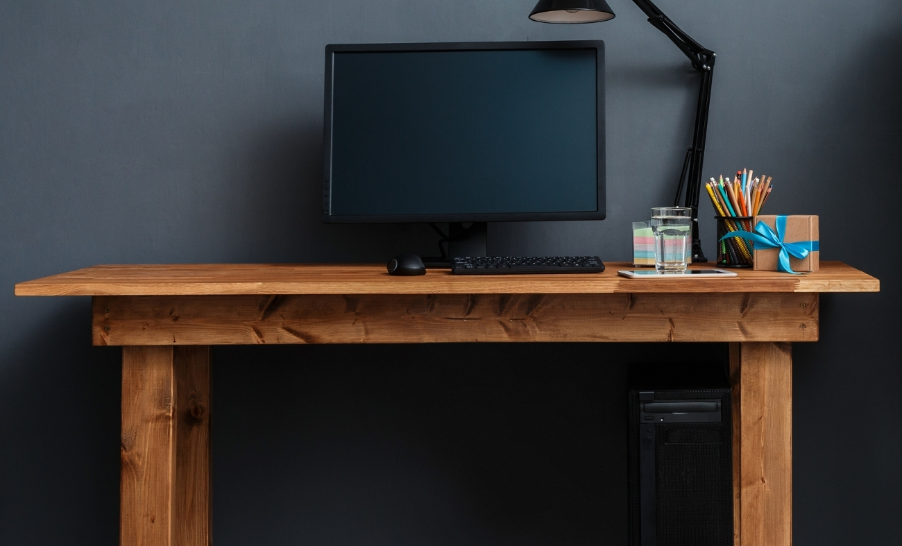 25 Cheap Computer Desks Under $100 In 2018 – Tech Siting Intended For Trendy Computer Desks Under $300 (Gallery 2 of 20)