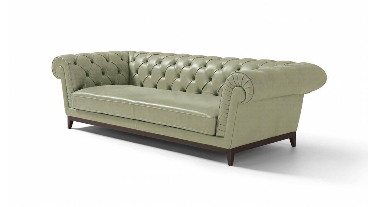 3 Seater Leather Sofas For Best And Newest Concerto Large 3 Seater Leather Sofa (Gallery 19 of 20)