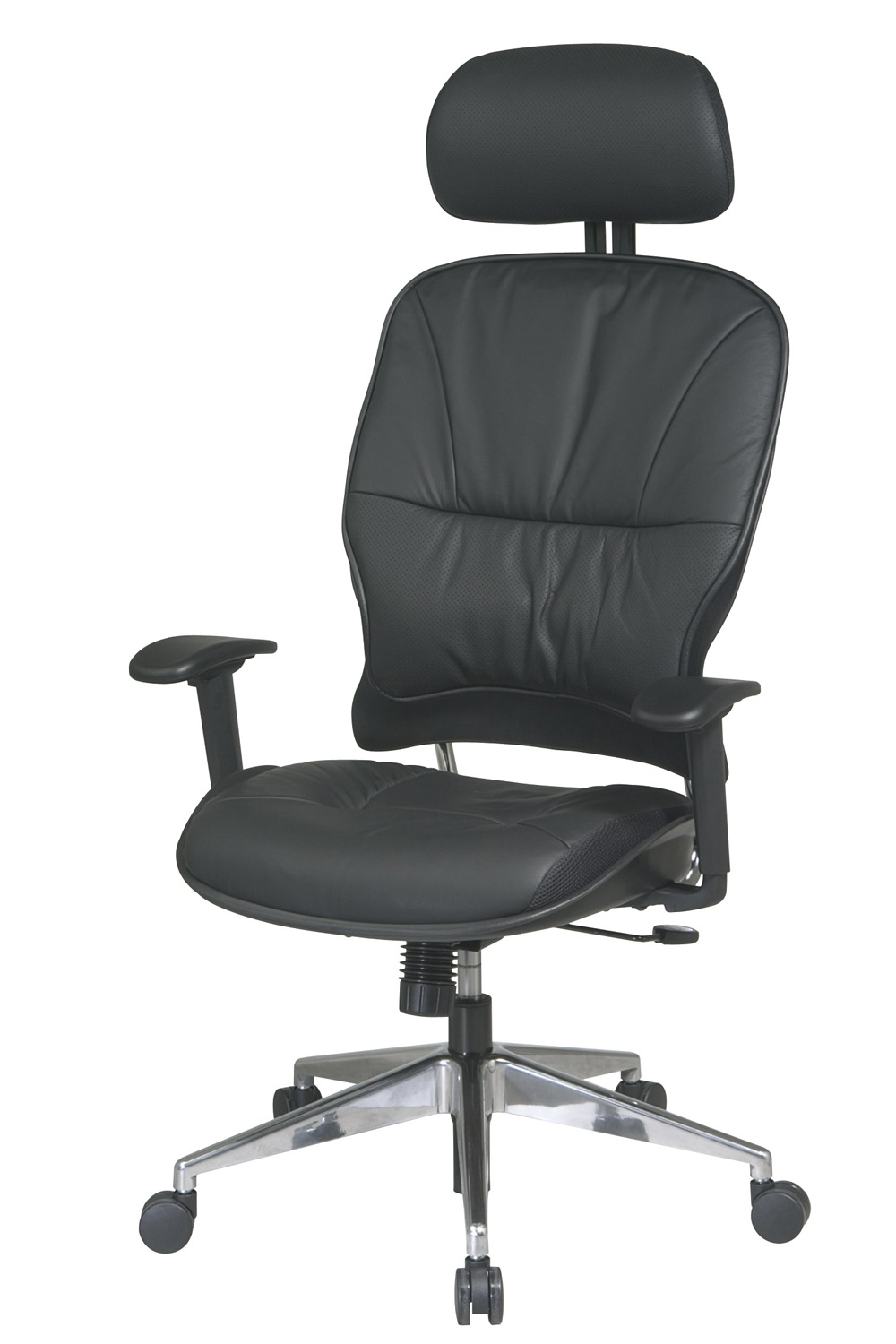 32 44P918Phl Office Star – Executive Leather Office Chair With With Well Known Executive Office Chairs With Headrest (View 13 of 20)