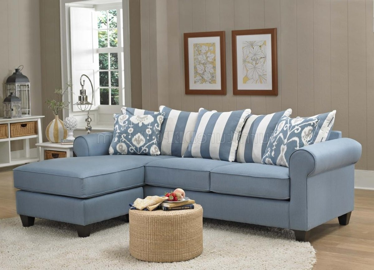 347710 Ivy Sofa Chaise In Light Blue Fabricchelsea For Recent Blue Sofa Chairs (View 2 of 20)