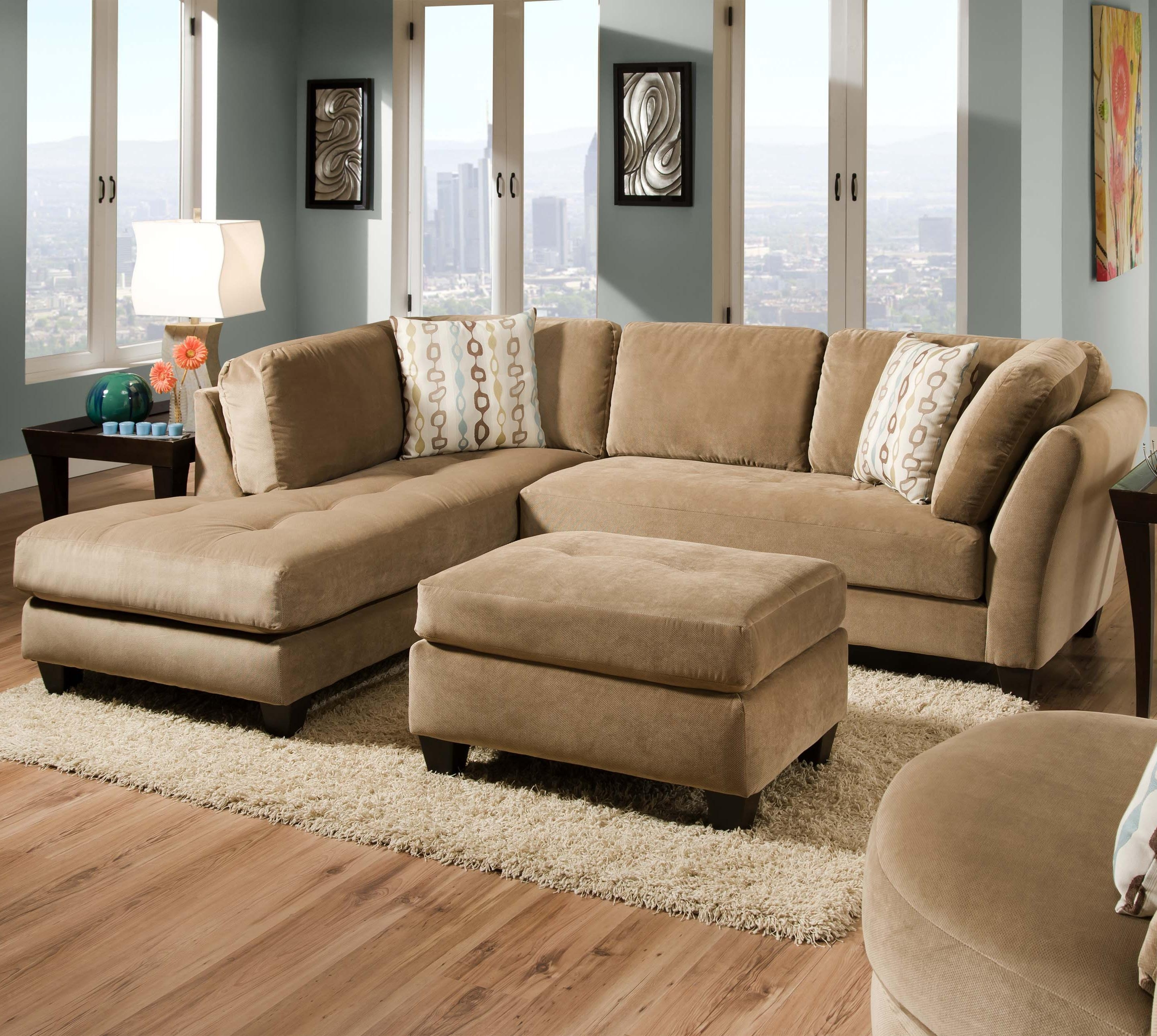 35b Slugger Mocha 2 Piece Sectionalcorinthian – Great American Within Favorite Memphis Sectional Sofas (View 19 of 20)