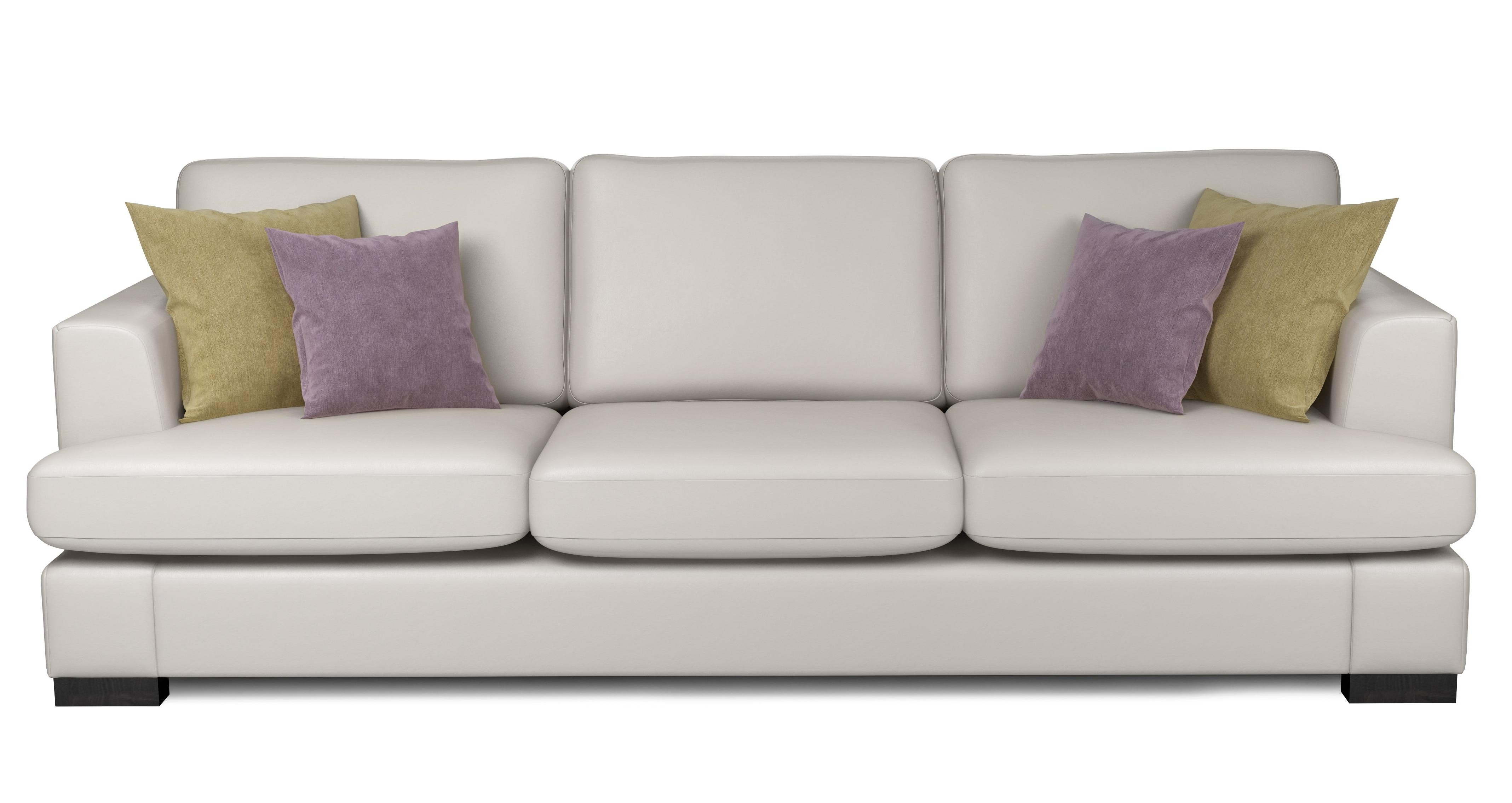 4 Seat Leather Sofas In Well Liked 4 Seater Leather Sofa – Home And Textiles (Gallery 6 of 20)