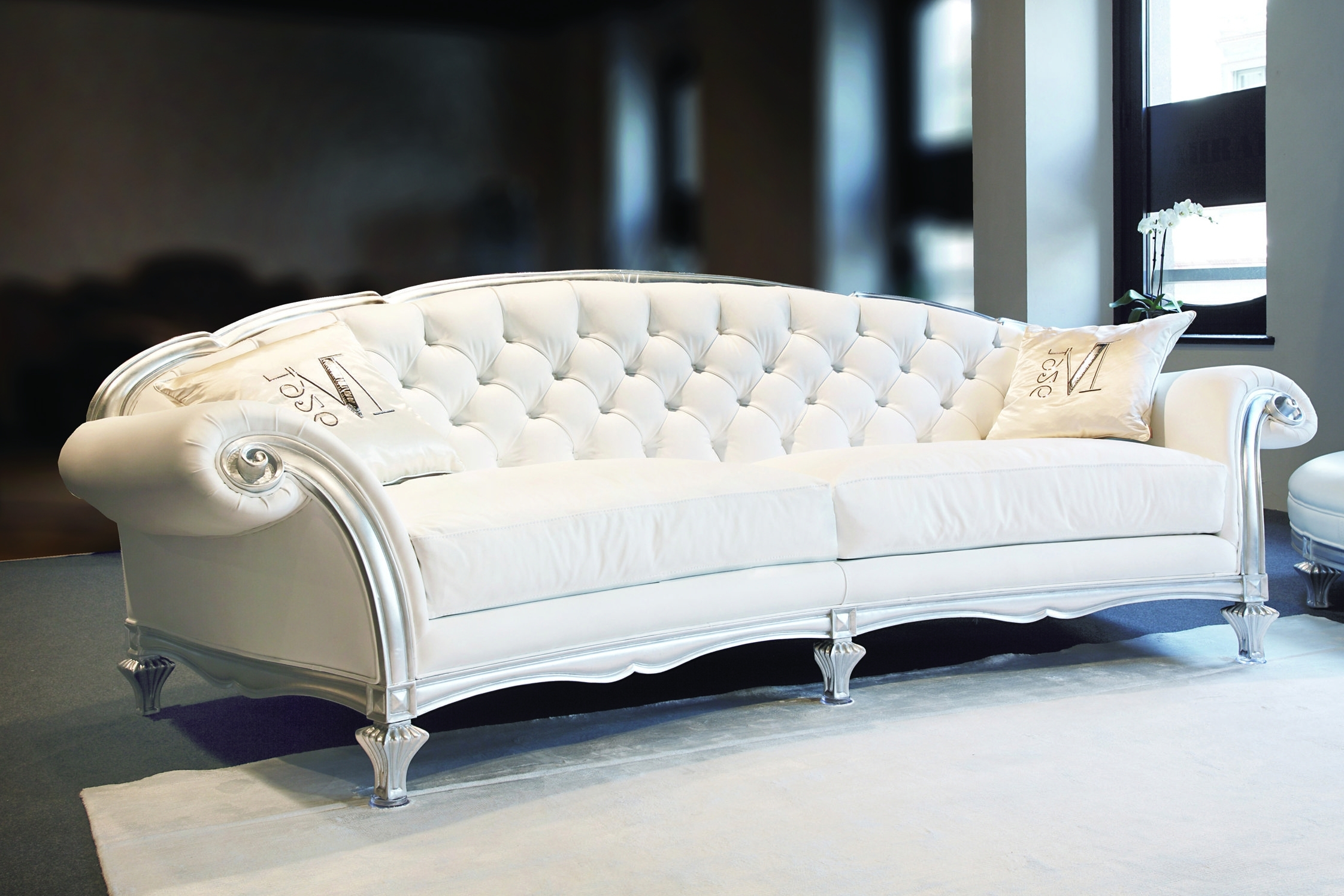4 Seat Leather Sofas With Regard To Favorite Blossom 4 Seater Sofa Covering As Seen: Leather Art (View 5 of 20)