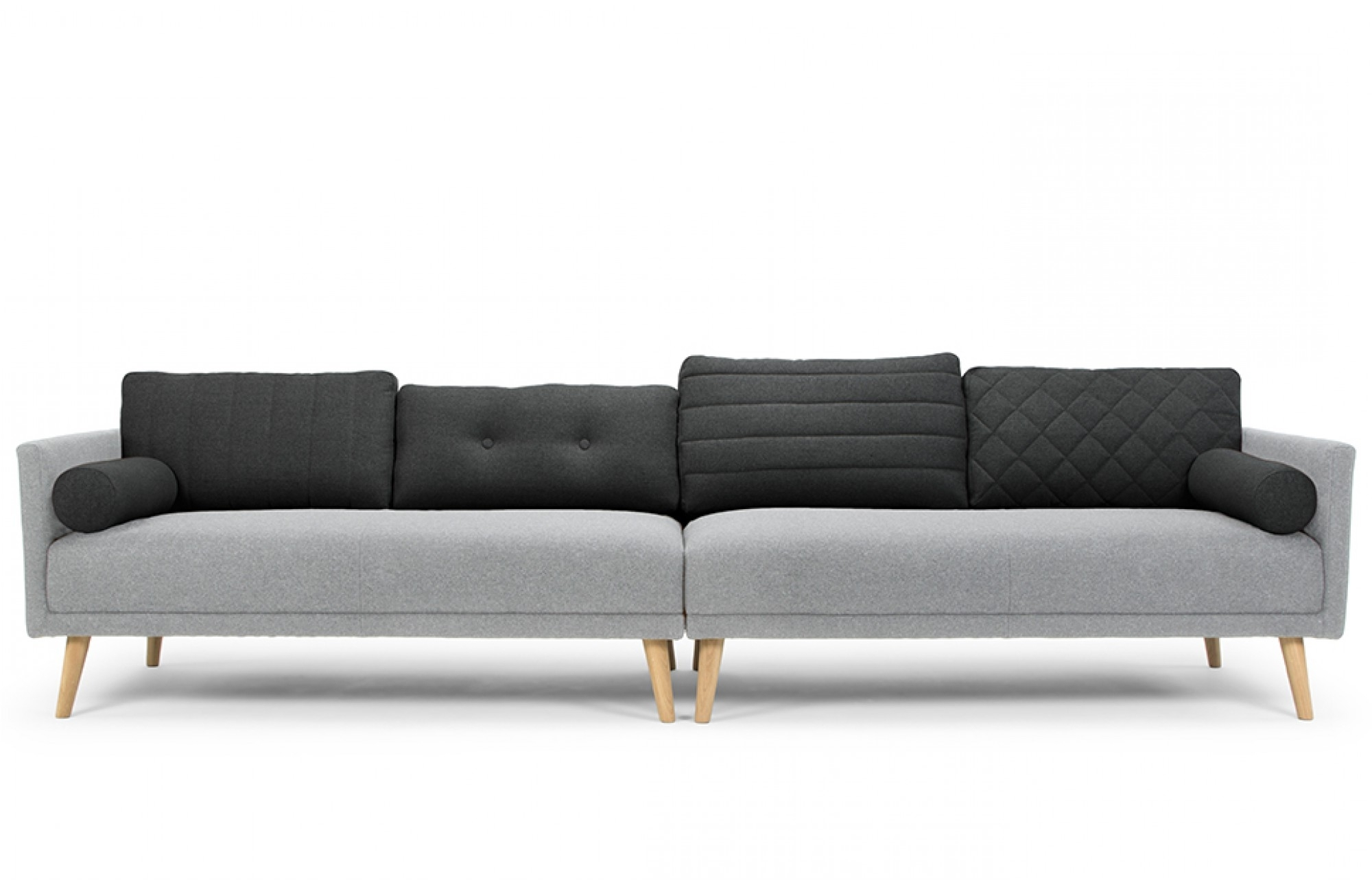4 Seat Sofas Inside Well Liked Grey 4 Seater Sofa – Lounge Furniture – Out & Out Original (View 7 of 20)