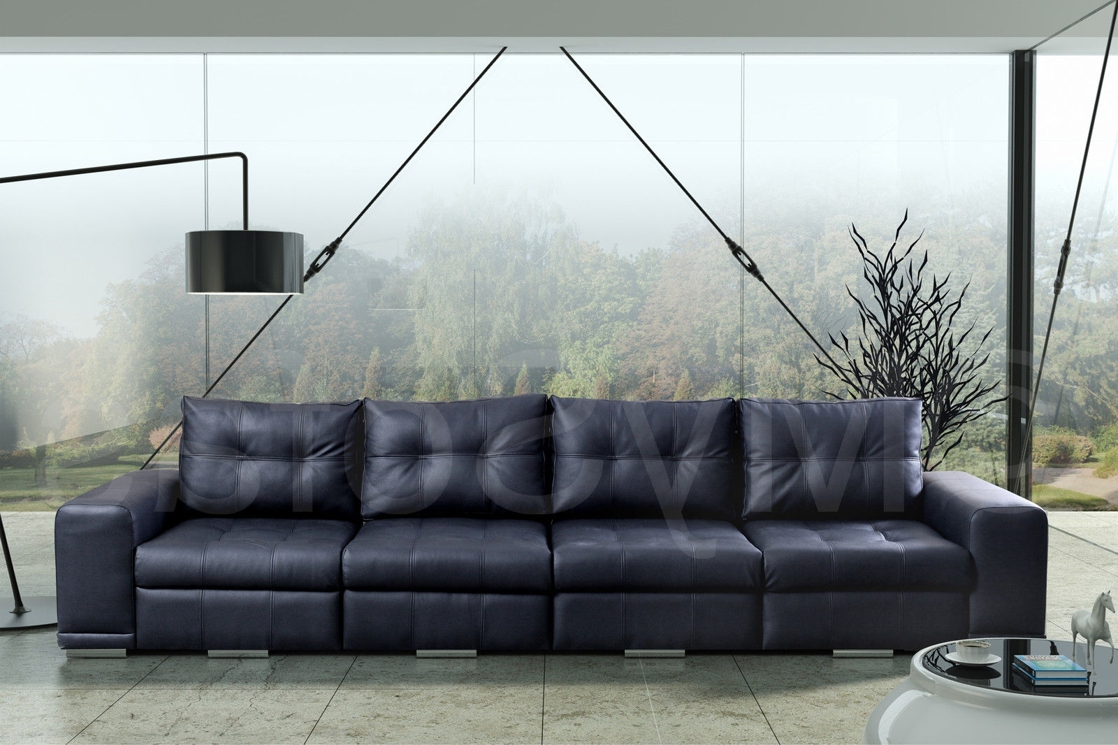 4 Seater Leather Sofas Uk (View 15 of 20)