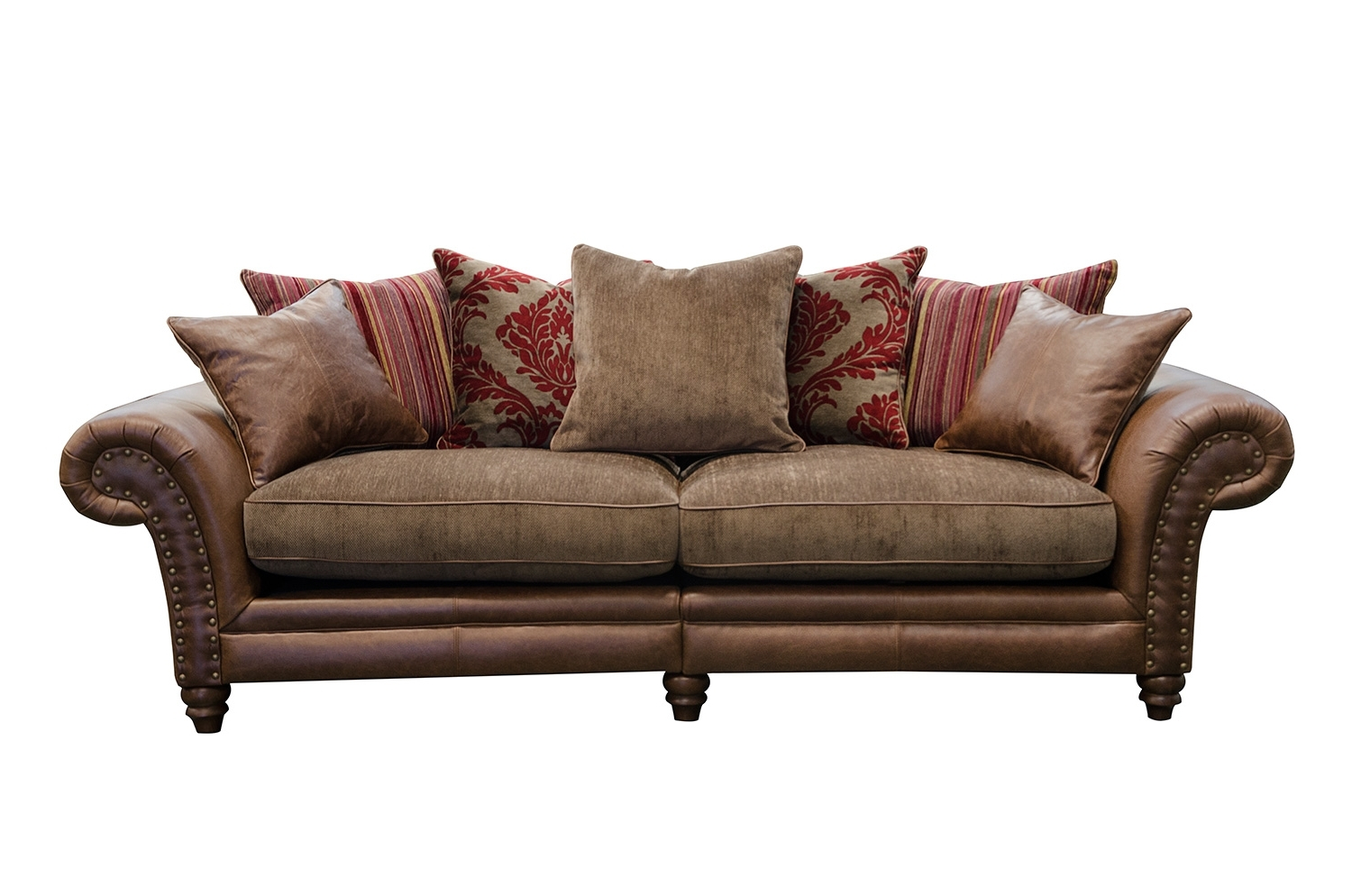 4 Seater Sofas Regarding Current Hudson 4 Seater Sofa – Alexander And James (View 2 of 20)