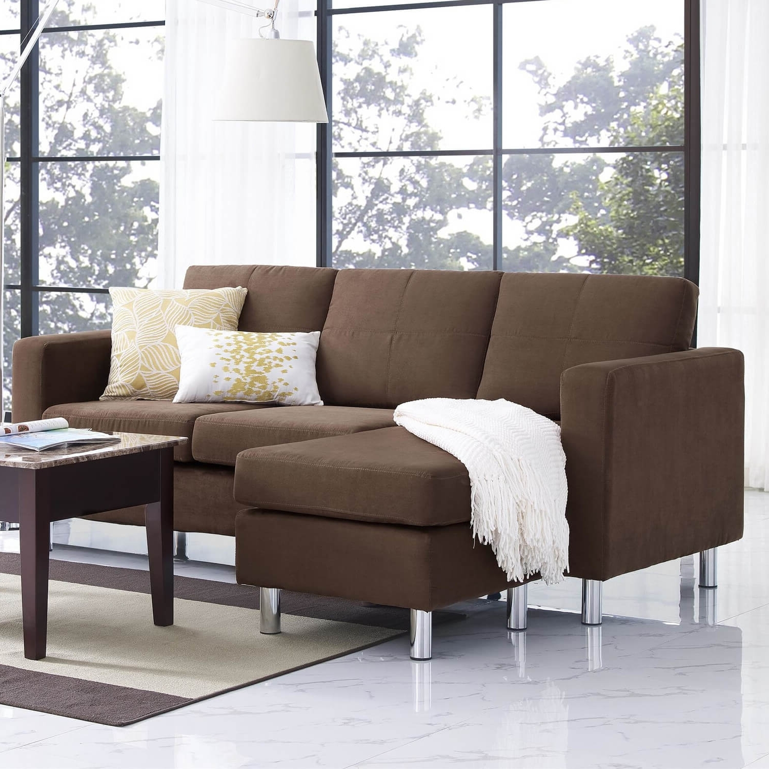 40 Cheap Sectional Sofas Under $500 For 2018 Regarding Trendy Sectional Sofas Under  (View 4 of 20)