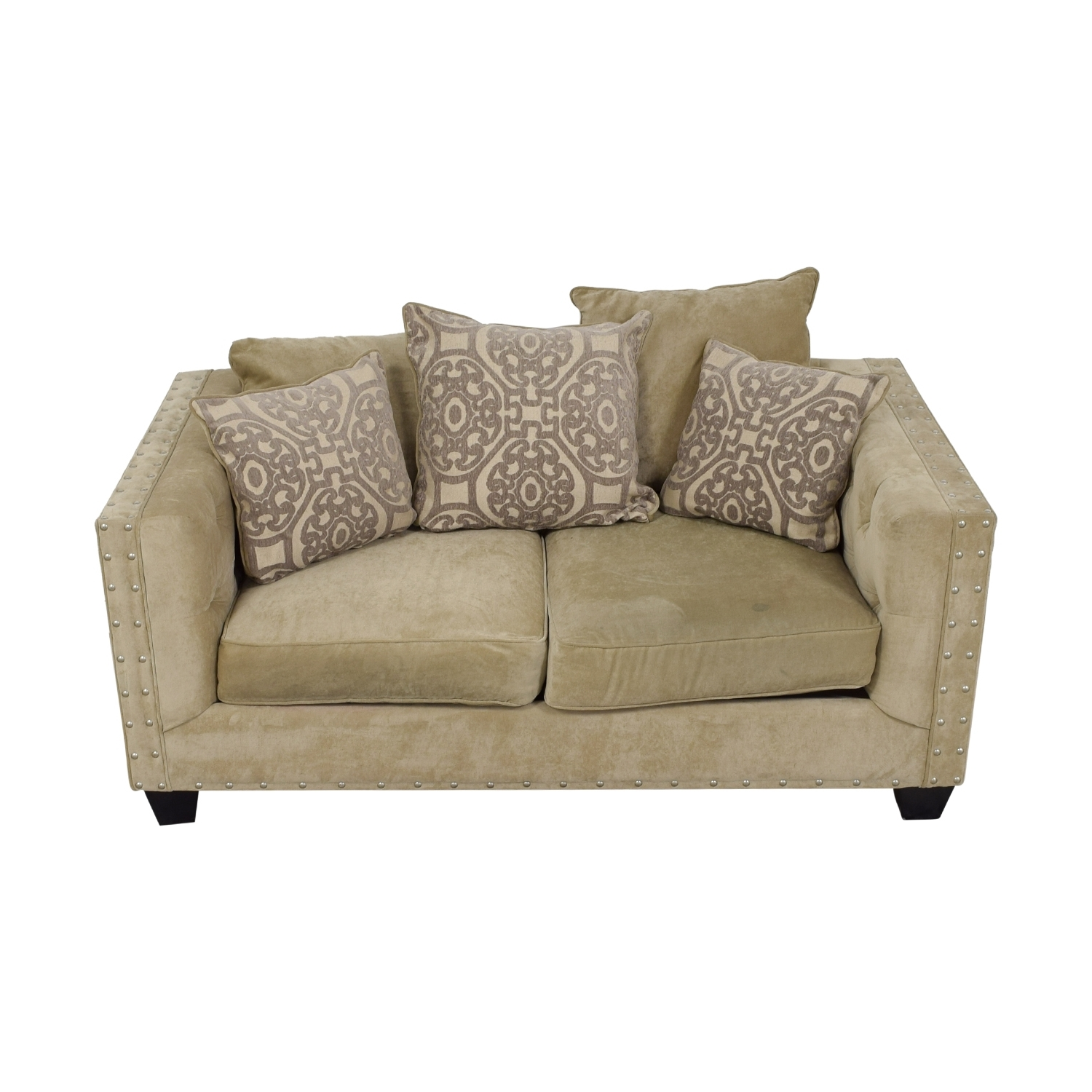 [%45% Off – West Elm West Elm Everett Dark Grey Microsuede Couch / Sofas With Regard To Newest Cindy Crawford Sofas|Cindy Crawford Sofas In Well Liked 45% Off – West Elm West Elm Everett Dark Grey Microsuede Couch / Sofas|Recent Cindy Crawford Sofas Throughout 45% Off – West Elm West Elm Everett Dark Grey Microsuede Couch / Sofas|Fashionable 45% Off – West Elm West Elm Everett Dark Grey Microsuede Couch / Sofas Within Cindy Crawford Sofas%] (View 13 of 20)
