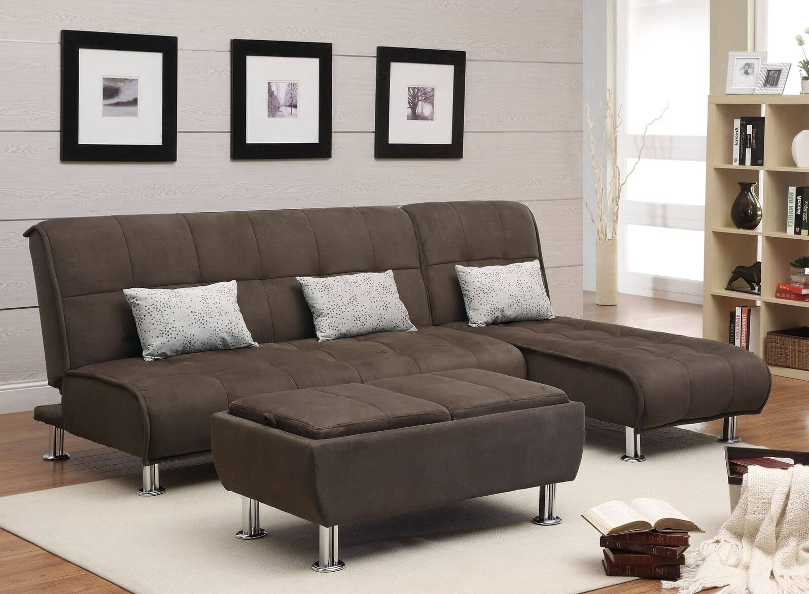 50 Beautiful Living Rooms With Ottoman Coffee Tables Within Popular Camel Colored Sectional Sofas (View 1 of 20)