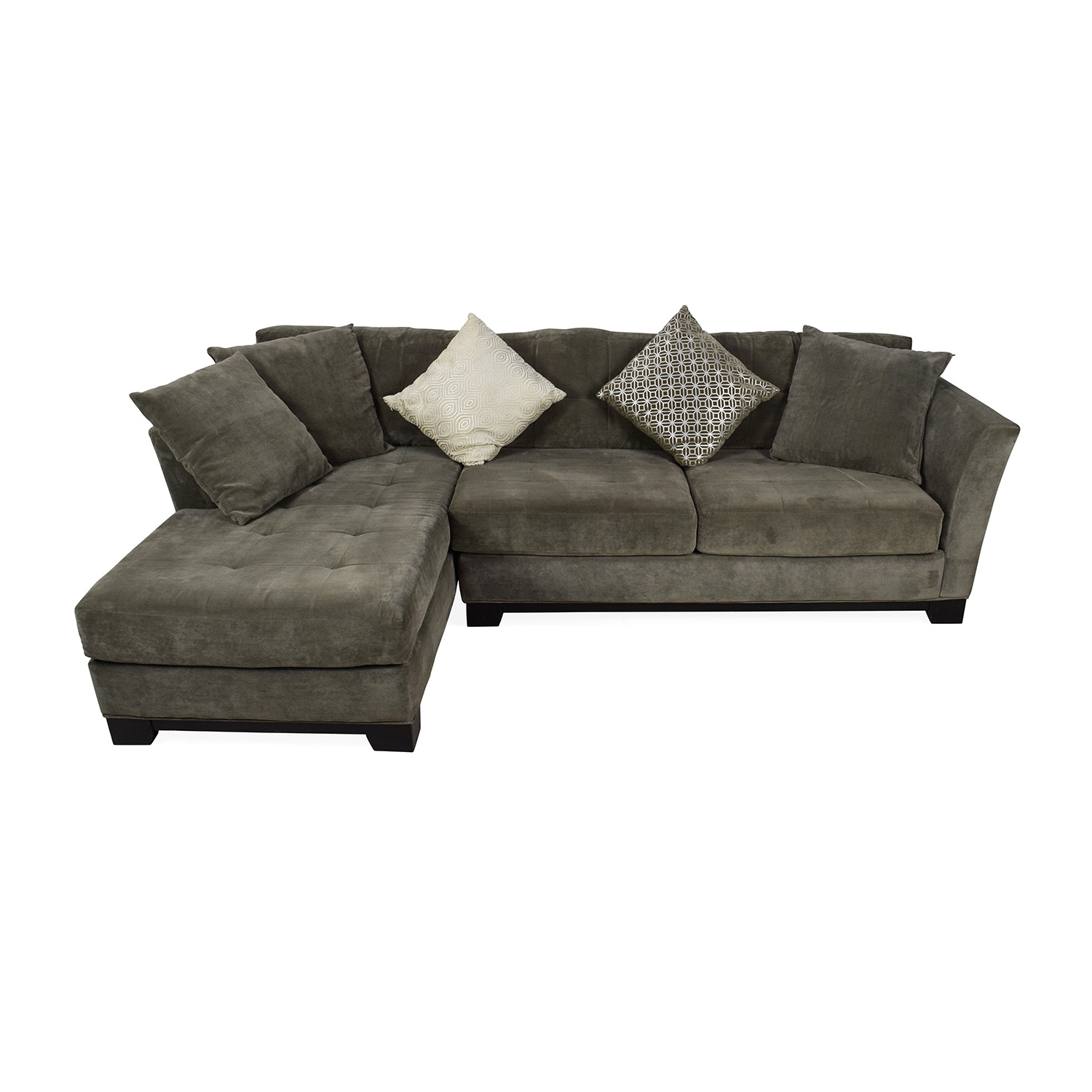 [%50% Off – Macy's Macy's Gray Sectional Couch With Chaise / Sofas With 2019 Macys Sofas|Macys Sofas Throughout Latest 50% Off – Macy's Macy's Gray Sectional Couch With Chaise / Sofas|Most Current Macys Sofas Within 50% Off – Macy's Macy's Gray Sectional Couch With Chaise / Sofas|Well Known 50% Off – Macy's Macy's Gray Sectional Couch With Chaise / Sofas Regarding Macys Sofas%] (View 2 of 20)