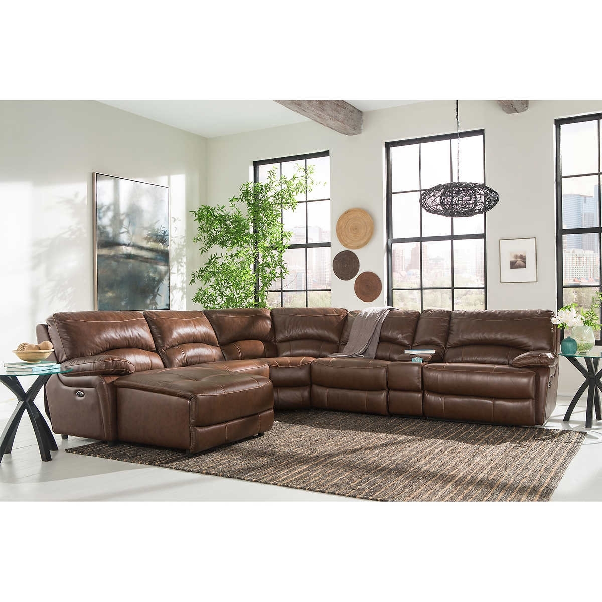 6 Piece Leather Sectional Sofas Intended For Preferred Inspirational 6 Piece  Leather Sectional Sofa 56 For