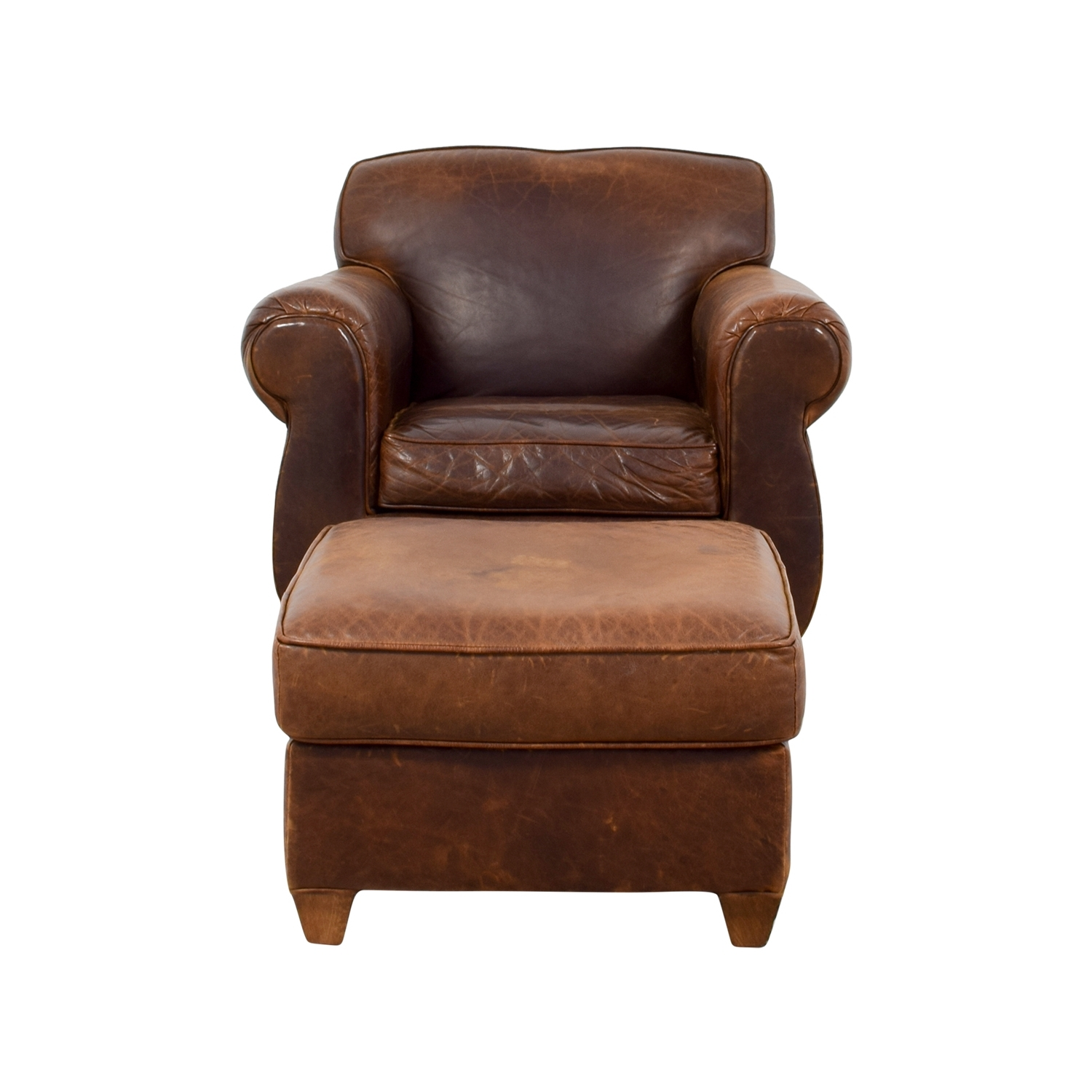 [%64% Off – Restoration Hardware Restoration Hardware 1940s Inside Trendy Chairs With Ottoman|chairs With Ottoman Inside 2018 64% Off – Restoration Hardware Restoration Hardware 1940s|famous Chairs With Ottoman Within 64% Off – Restoration Hardware Restoration Hardware 1940s|newest 64% Off – Restoration Hardware Restoration Hardware 1940s For Chairs With Ottoman%] (View 11 of 20)