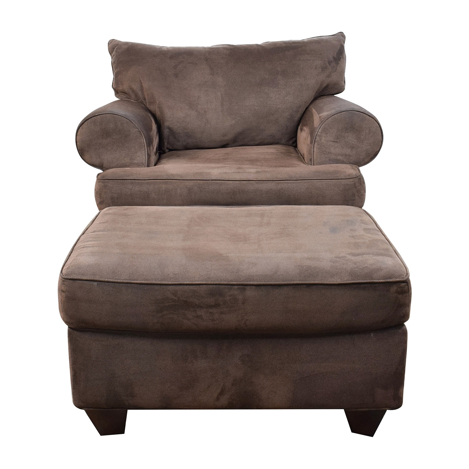 [%67% Off – Dark Brown Sofa Chair With Ottoman / Chairs In Famous Chairs With Ottoman|Chairs With Ottoman With Favorite 67% Off – Dark Brown Sofa Chair With Ottoman / Chairs|Widely Used Chairs With Ottoman For 67% Off – Dark Brown Sofa Chair With Ottoman / Chairs|Well Known 67% Off – Dark Brown Sofa Chair With Ottoman / Chairs For Chairs With Ottoman%] (View 2 of 20)