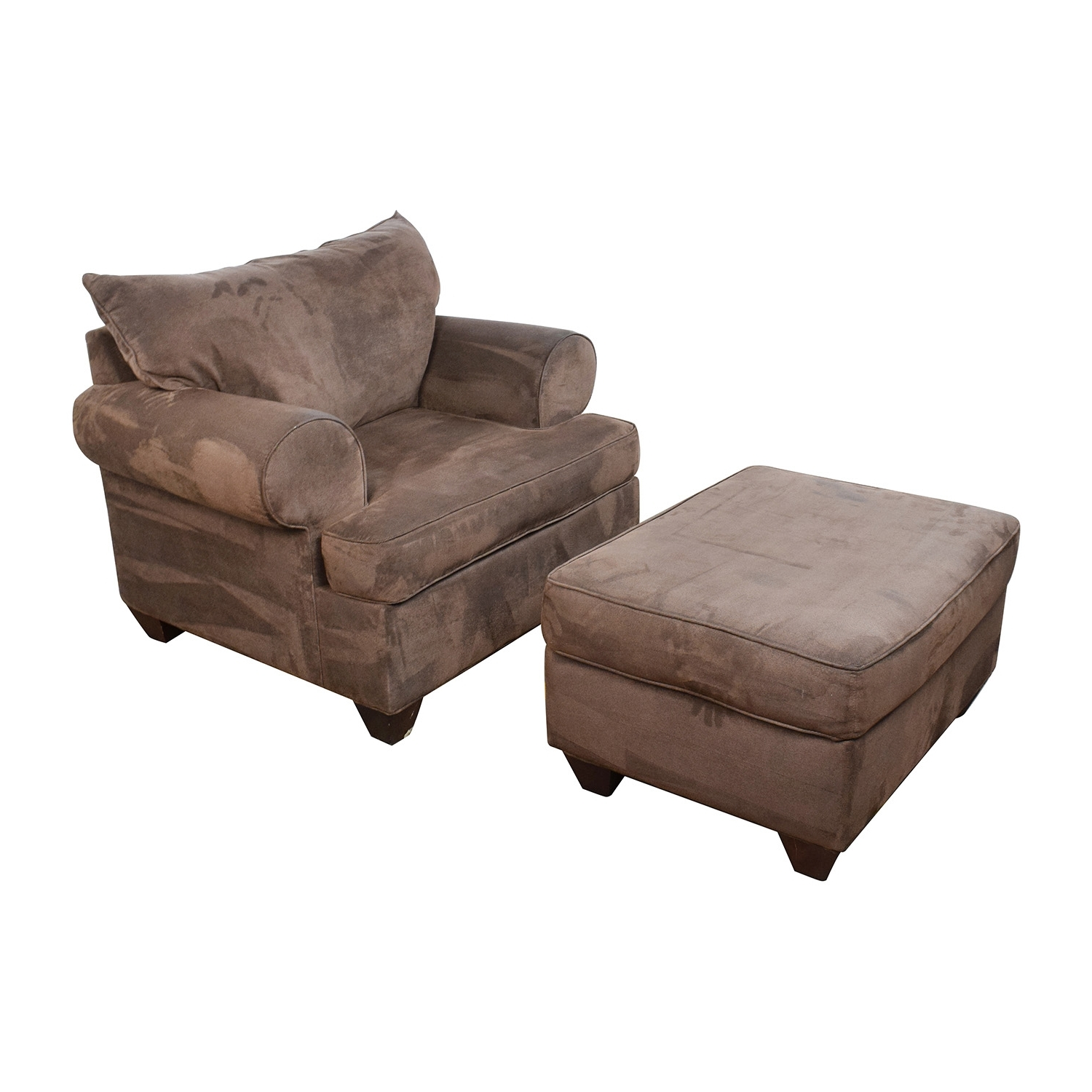 [%67% Off – Dark Brown Sofa Chair With Ottoman / Chairs Pertaining To Favorite Brown Sofa Chairs|Brown Sofa Chairs Regarding Widely Used 67% Off – Dark Brown Sofa Chair With Ottoman / Chairs|Widely Used Brown Sofa Chairs Regarding 67% Off – Dark Brown Sofa Chair With Ottoman / Chairs|2018 67% Off – Dark Brown Sofa Chair With Ottoman / Chairs Regarding Brown Sofa Chairs%] (View 5 of 20)
