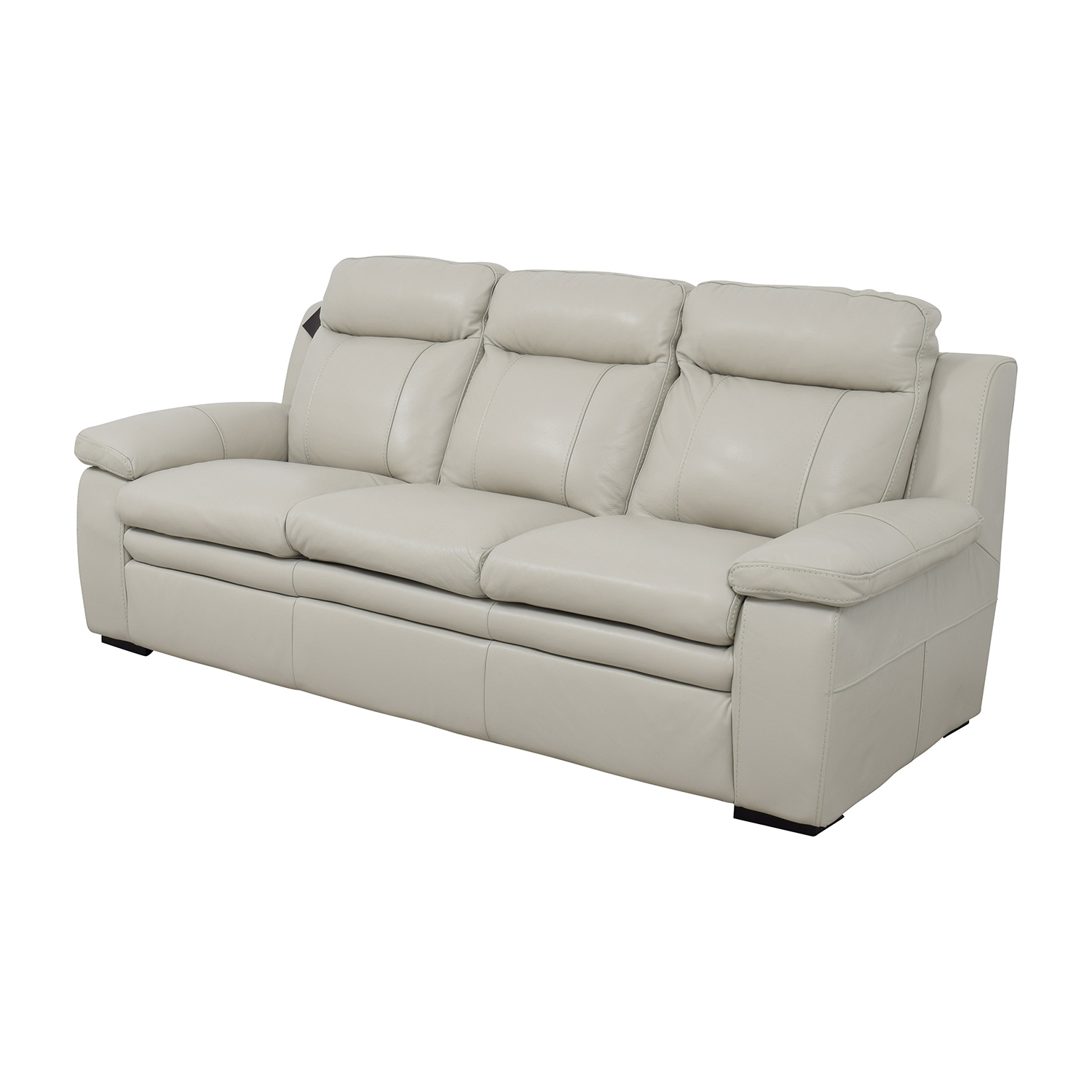 [%67% Off – Macy's Macy's Zane White Leather Sofa / Sofas Within Preferred Off White Leather Sofas|off White Leather Sofas Throughout Well Known 67% Off – Macy's Macy's Zane White Leather Sofa / Sofas|popular Off White Leather Sofas Inside 67% Off – Macy's Macy's Zane White Leather Sofa / Sofas|most Popular 67% Off – Macy's Macy's Zane White Leather Sofa / Sofas Within Off White Leather Sofas%] (View 20 of 20)