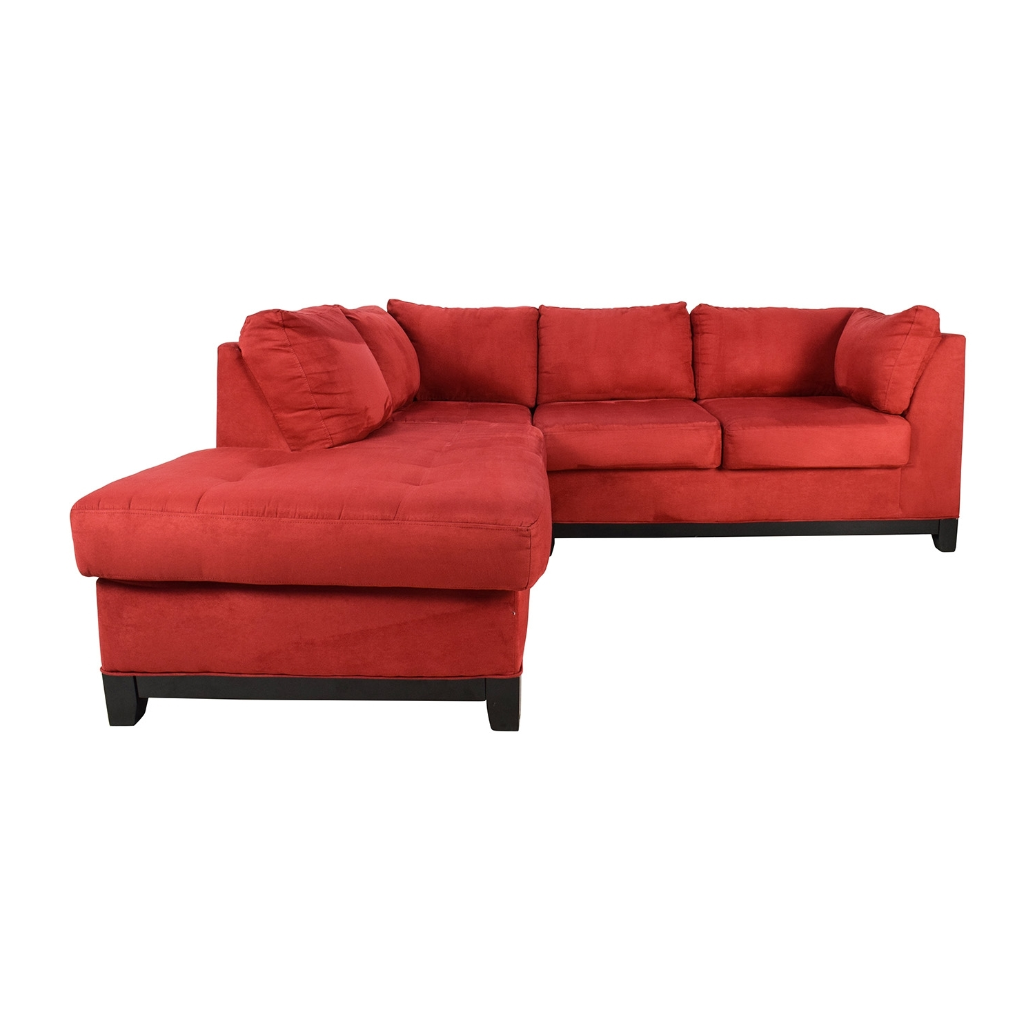 [%67% Off – Raymour And Flanigan Raymour & Flanigan Zella Red Intended For Fashionable Red Sectional Sofas|Red Sectional Sofas For Well Known 67% Off – Raymour And Flanigan Raymour & Flanigan Zella Red|Most Recent Red Sectional Sofas Regarding 67% Off – Raymour And Flanigan Raymour & Flanigan Zella Red|Newest 67% Off – Raymour And Flanigan Raymour & Flanigan Zella Red Throughout Red Sectional Sofas%] (View 1 of 20)